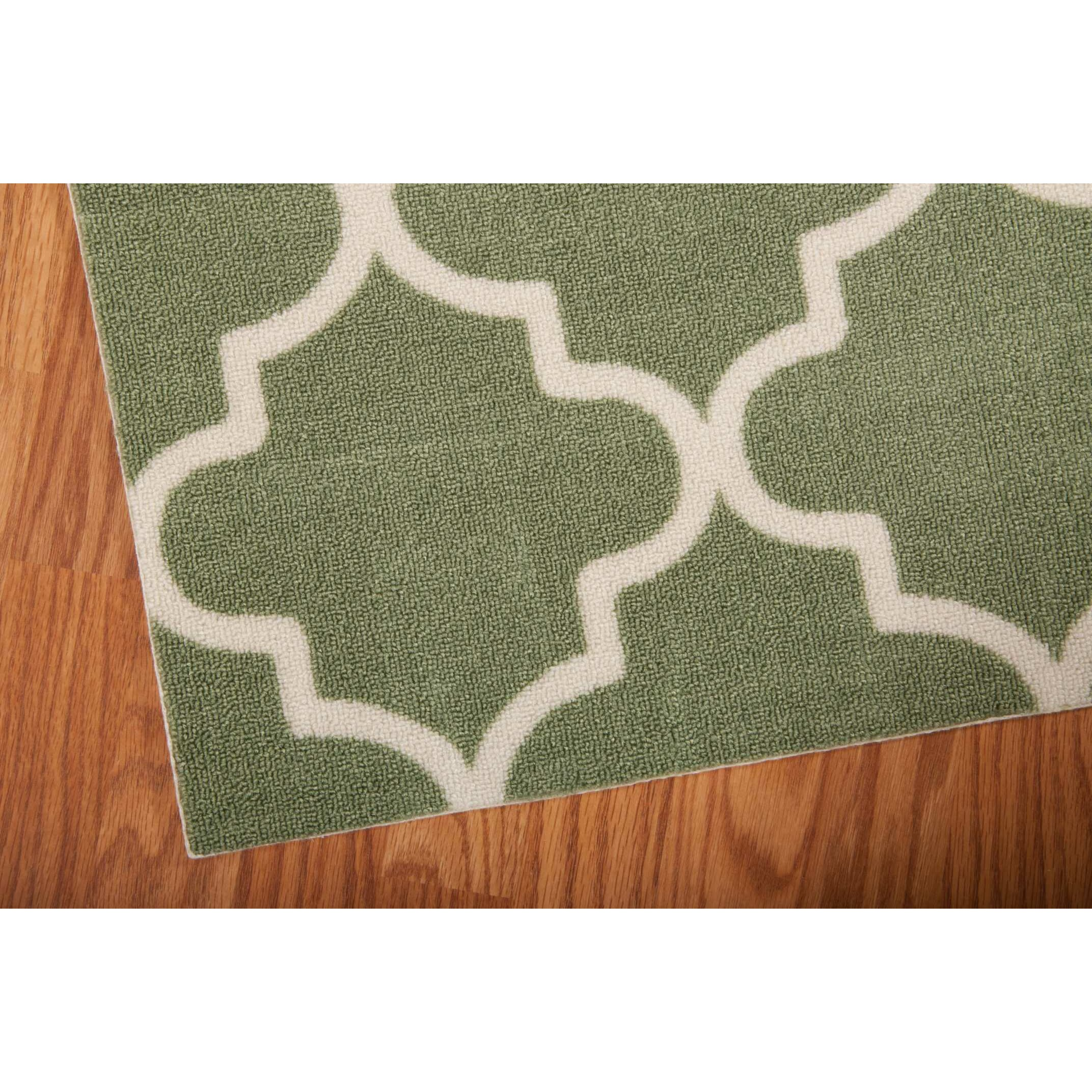 Waverly Sun n Shade Moss Indoor Outdoor Runner Rug