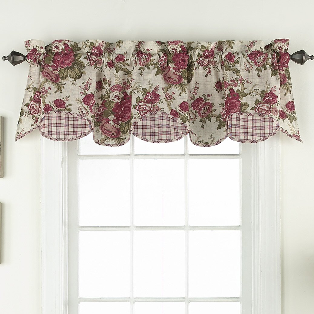 "Waverly Norfolk 60"" Valance & Reviews"