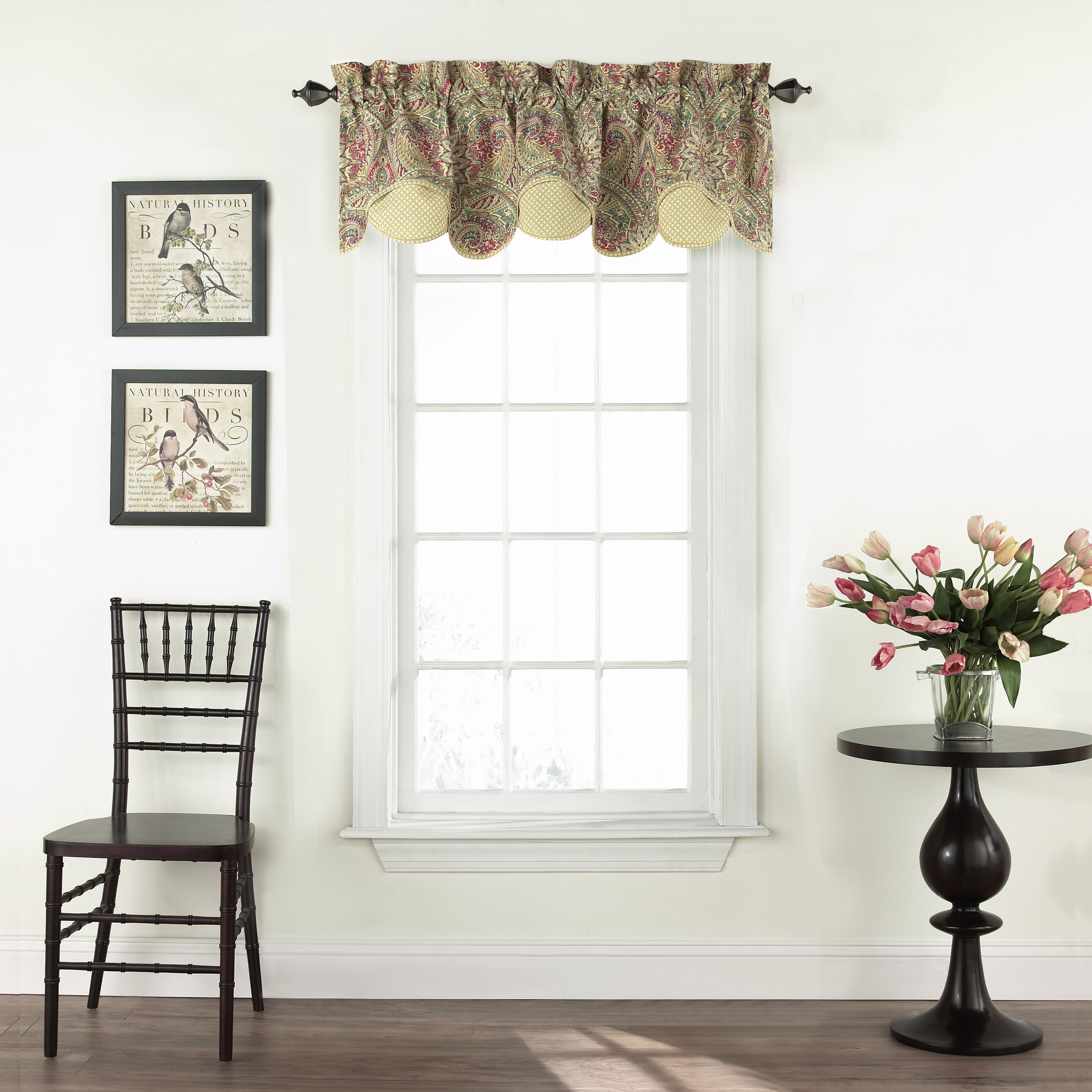 "Waverly Swept Away 60"" Curtain Valance & Reviews"