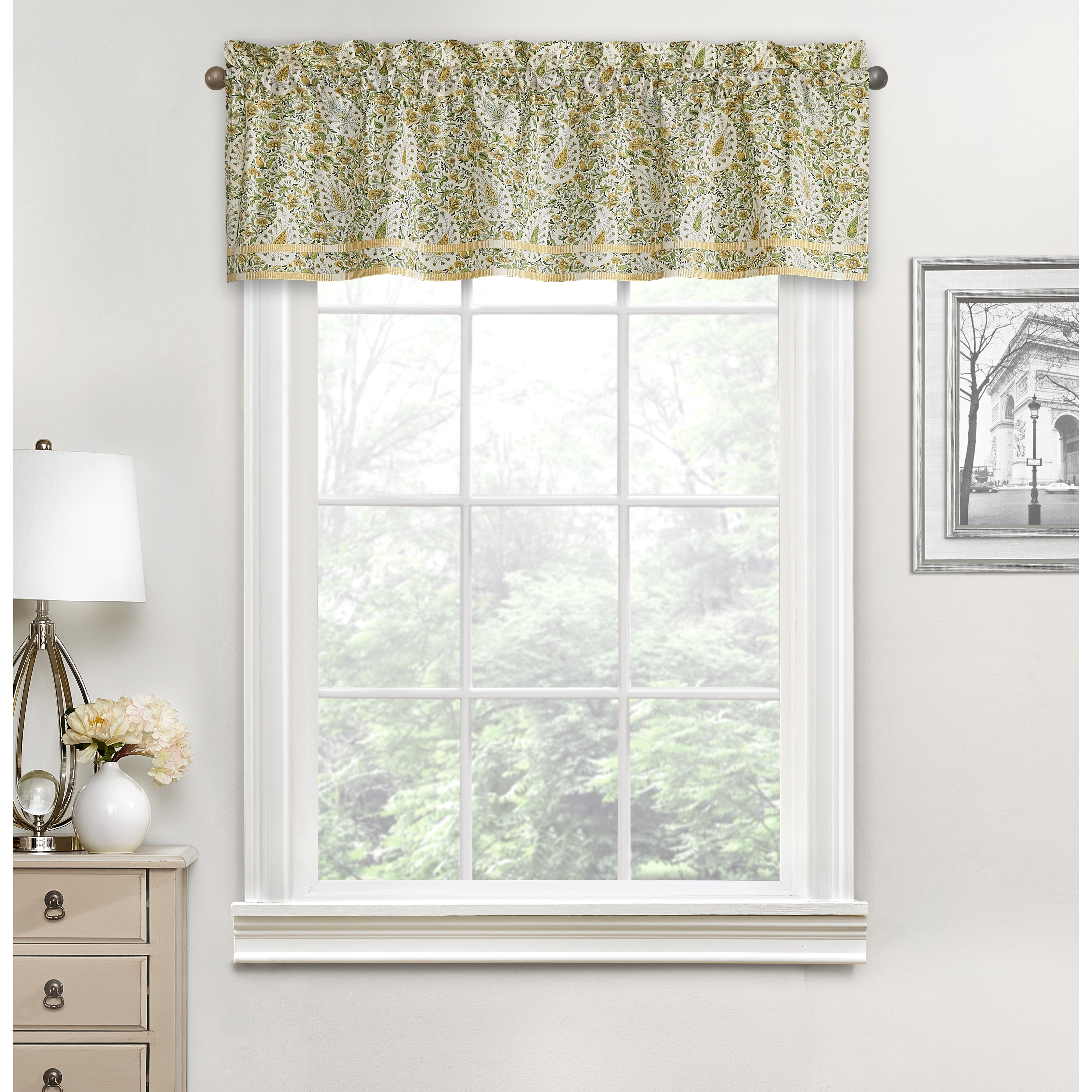 kitchen blinds paisley custom valances drapery panels and shades valance p kaufmann. Black Bedroom Furniture Sets. Home Design Ideas