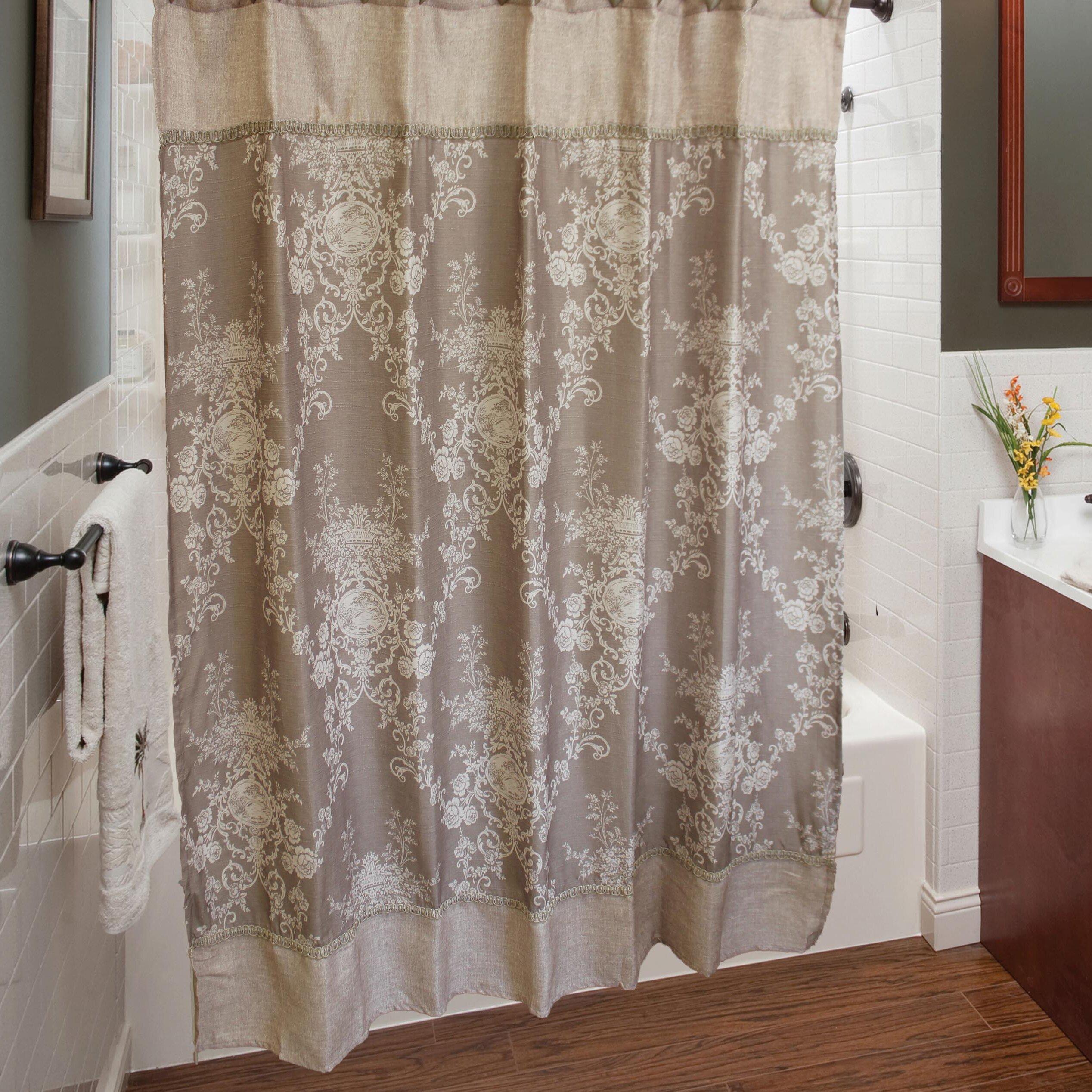 Sherry Kline Winchester Shower Curtain Set & Reviews | Wayfair