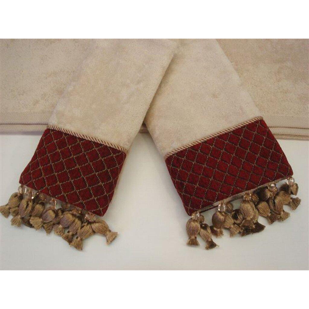 Sherry Kline Antoinette Wheat Decorative 3 Piece Towel Set Reviews Wayfair