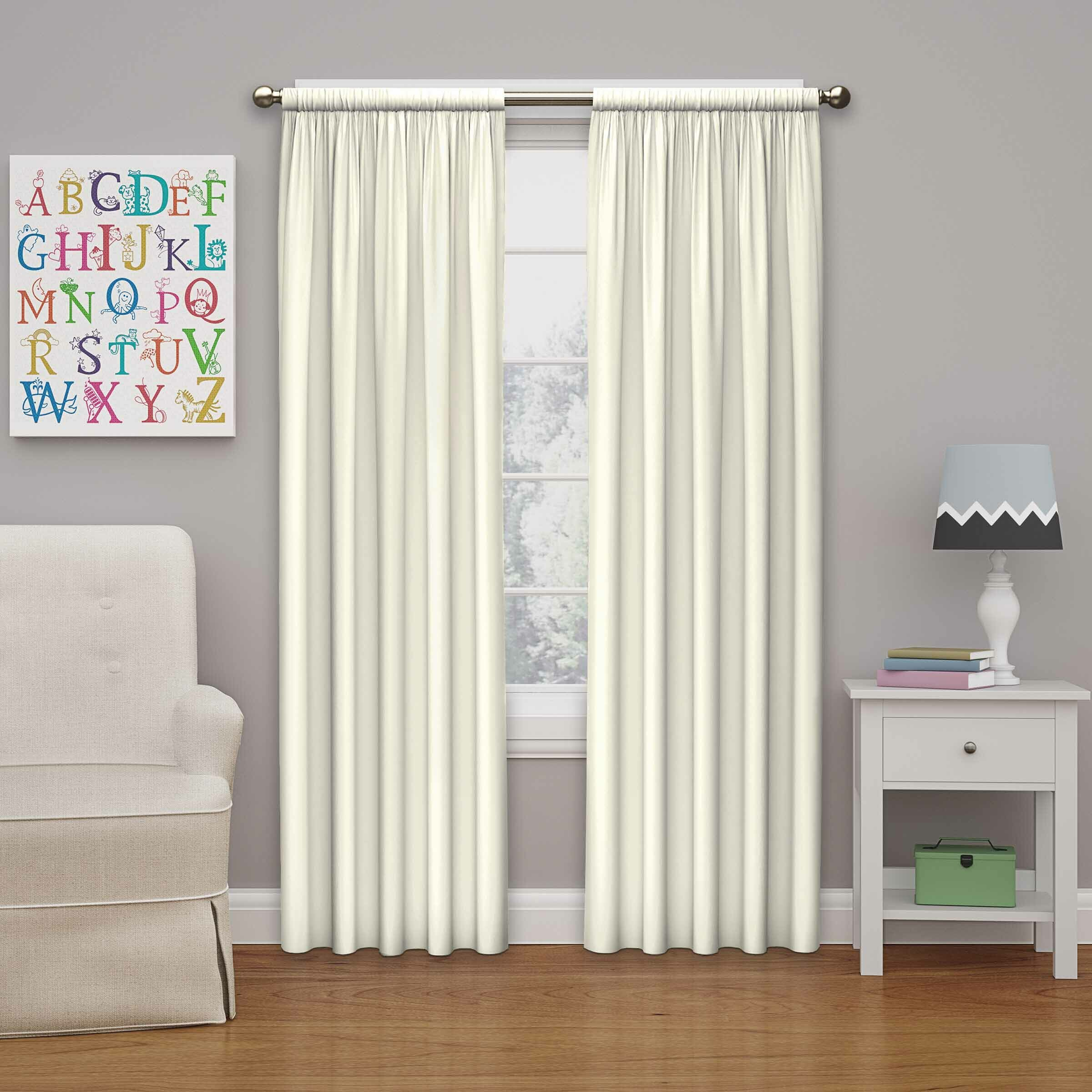 Jcpenney curtains for kids - Curtain Valances Jcpenney Eclipse Curtains Kids Microfiber Room Darkening Single Curtain Panel