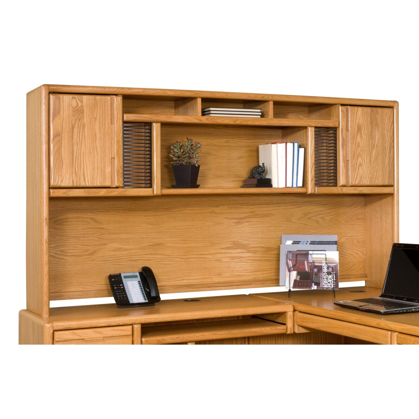 Martin Home Furnishings Contemporary Medium Oak Deluxe ...