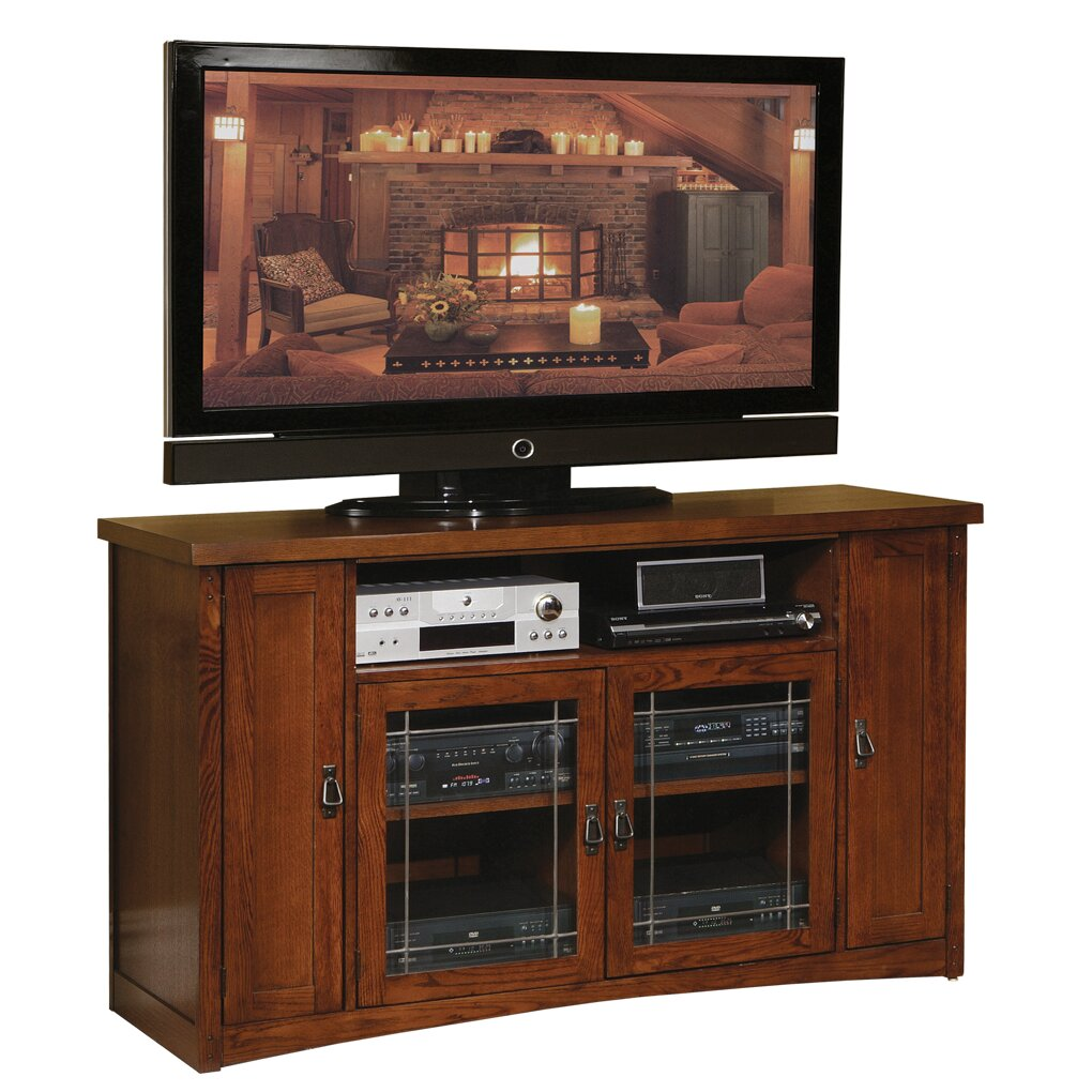 Martin Home Furnishings Mission Pasadena Tall Tv Stand