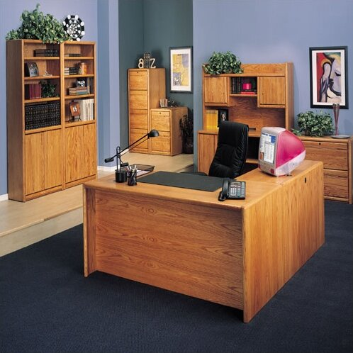 Martin home furnishings contemporary medium oak 2 drawer lateral file reviews wayfair - Martin home office furniture ...