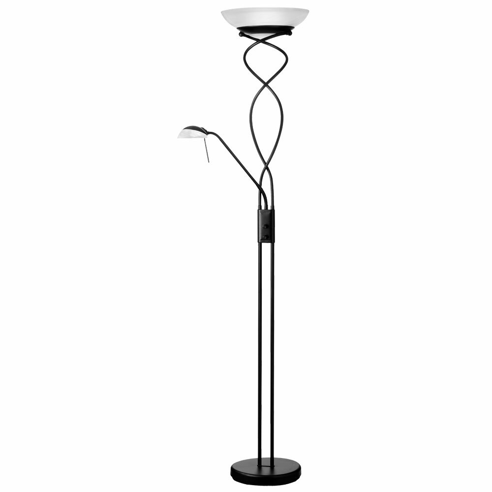 Dainolite Mother And Son 72 Quot Torchiere Floor Lamp