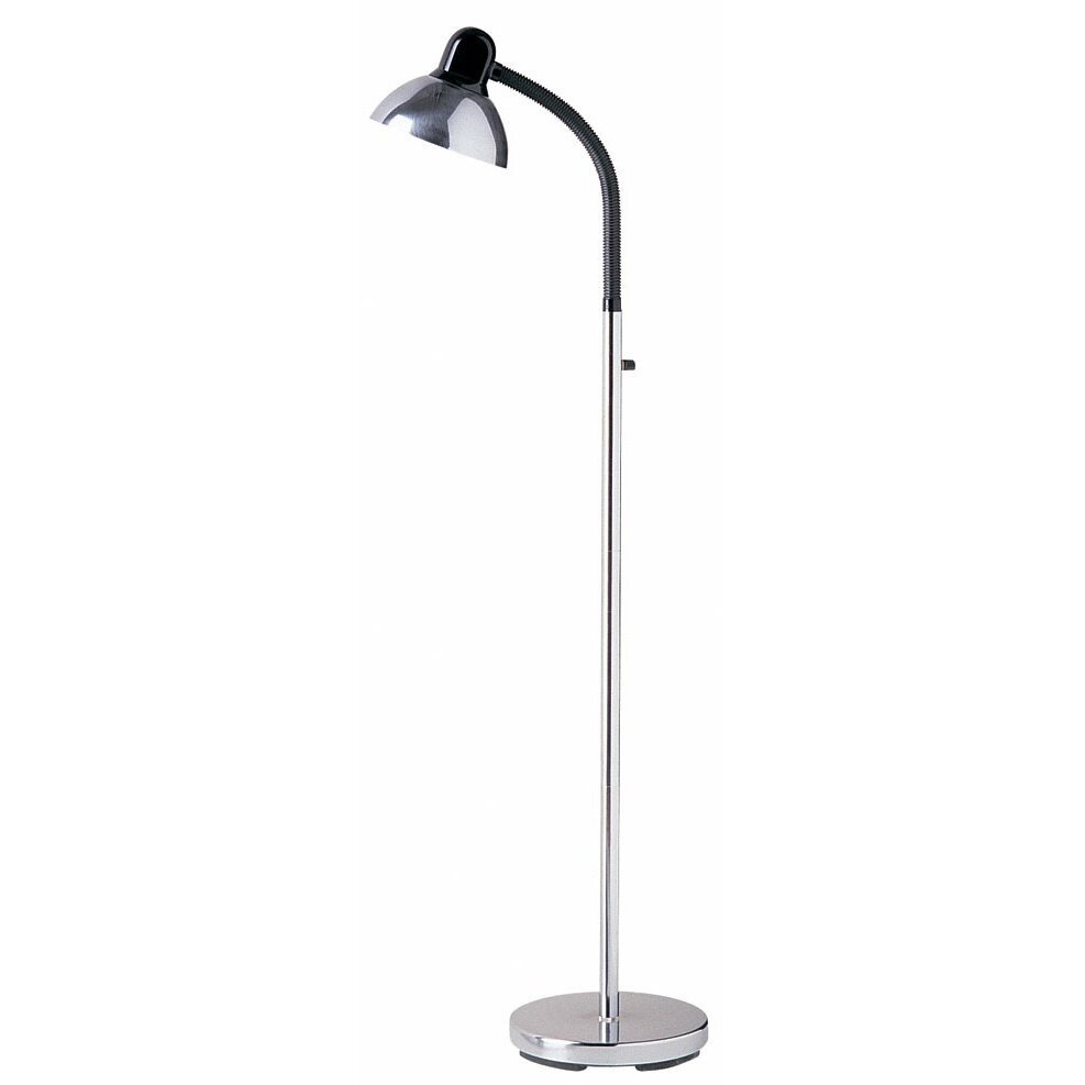 Dainolite sammy gooseneck 54quot arched floor lamp reviews for Dainolite 7 light floor lamp