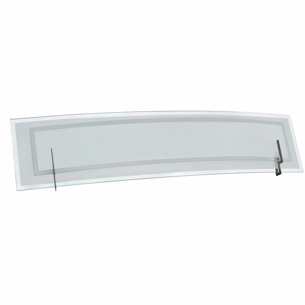 Vanity Lights With Clear Glass : Dainolite Clear/Frosted Glass Vanity 3 Light Bath Bar & Reviews Wayfair.ca