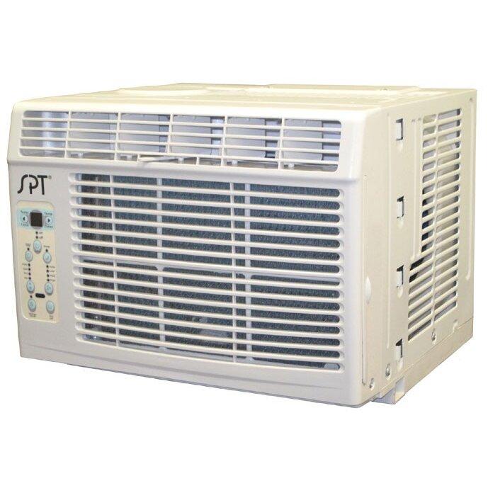 sunpentown 6000 btu energy star window air conditioner. Black Bedroom Furniture Sets. Home Design Ideas