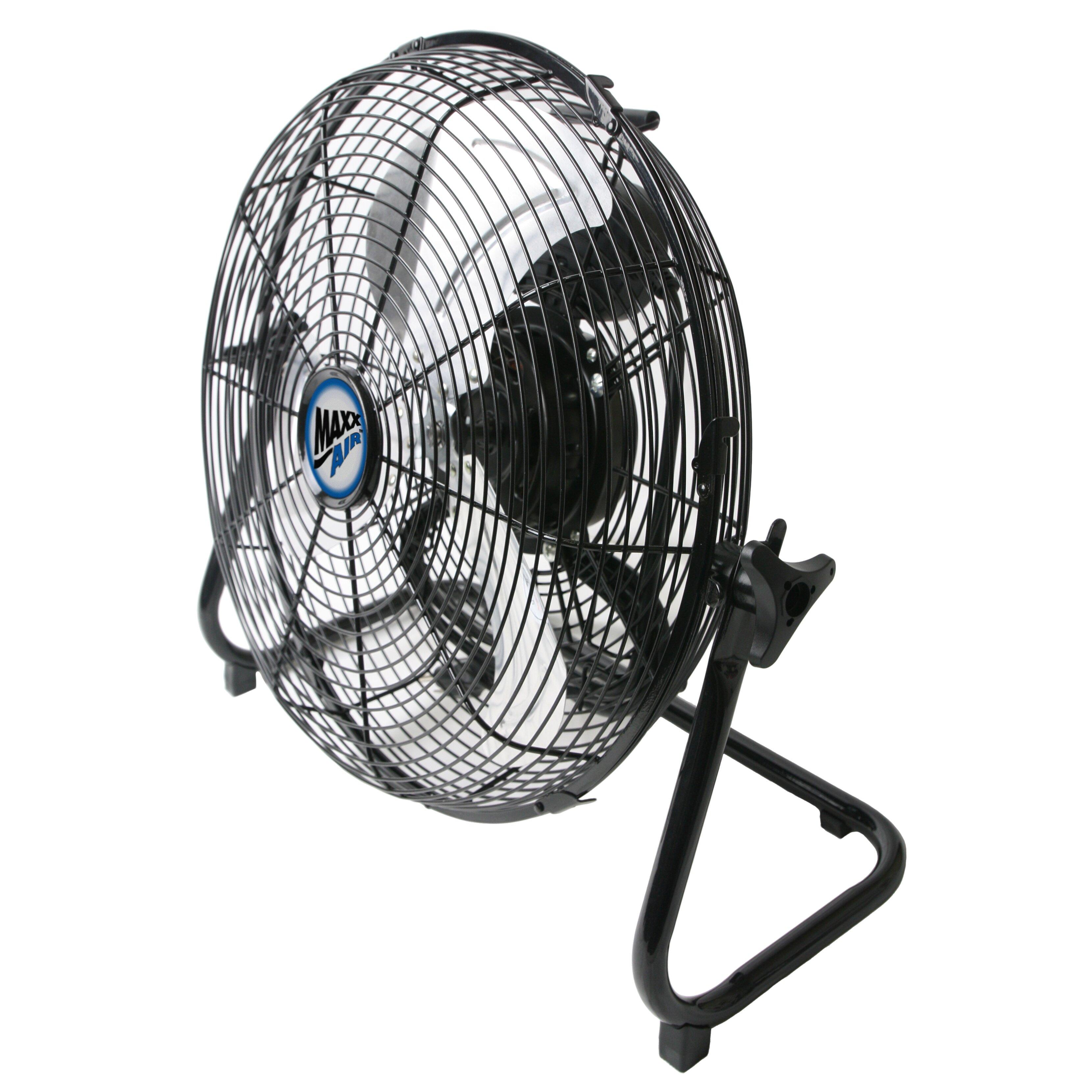 High Velocity Fan : Maxxair high velocity floor fan wayfair