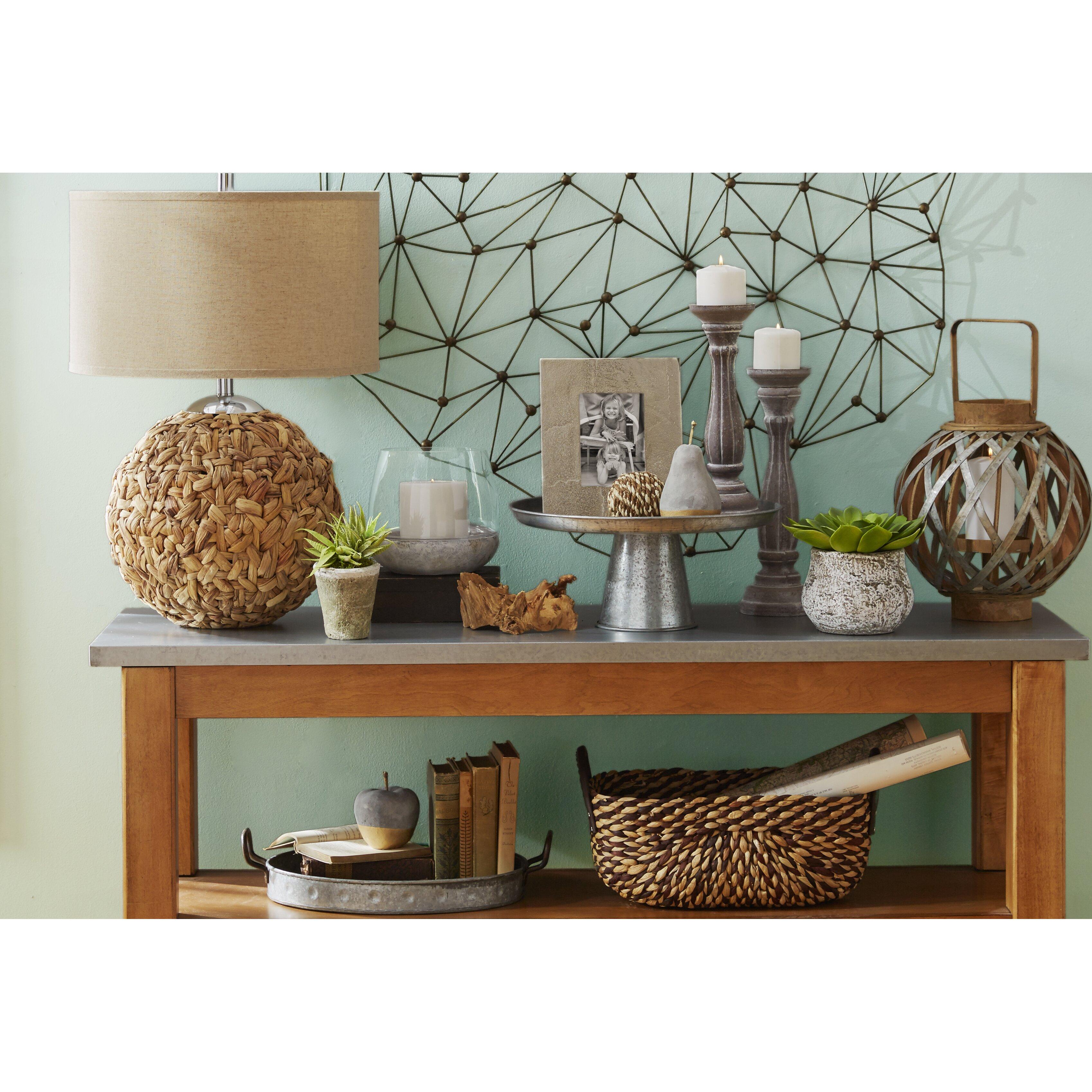 Moe 39 S Home Collection Icosagon Wall D Cor Reviews Wayfair