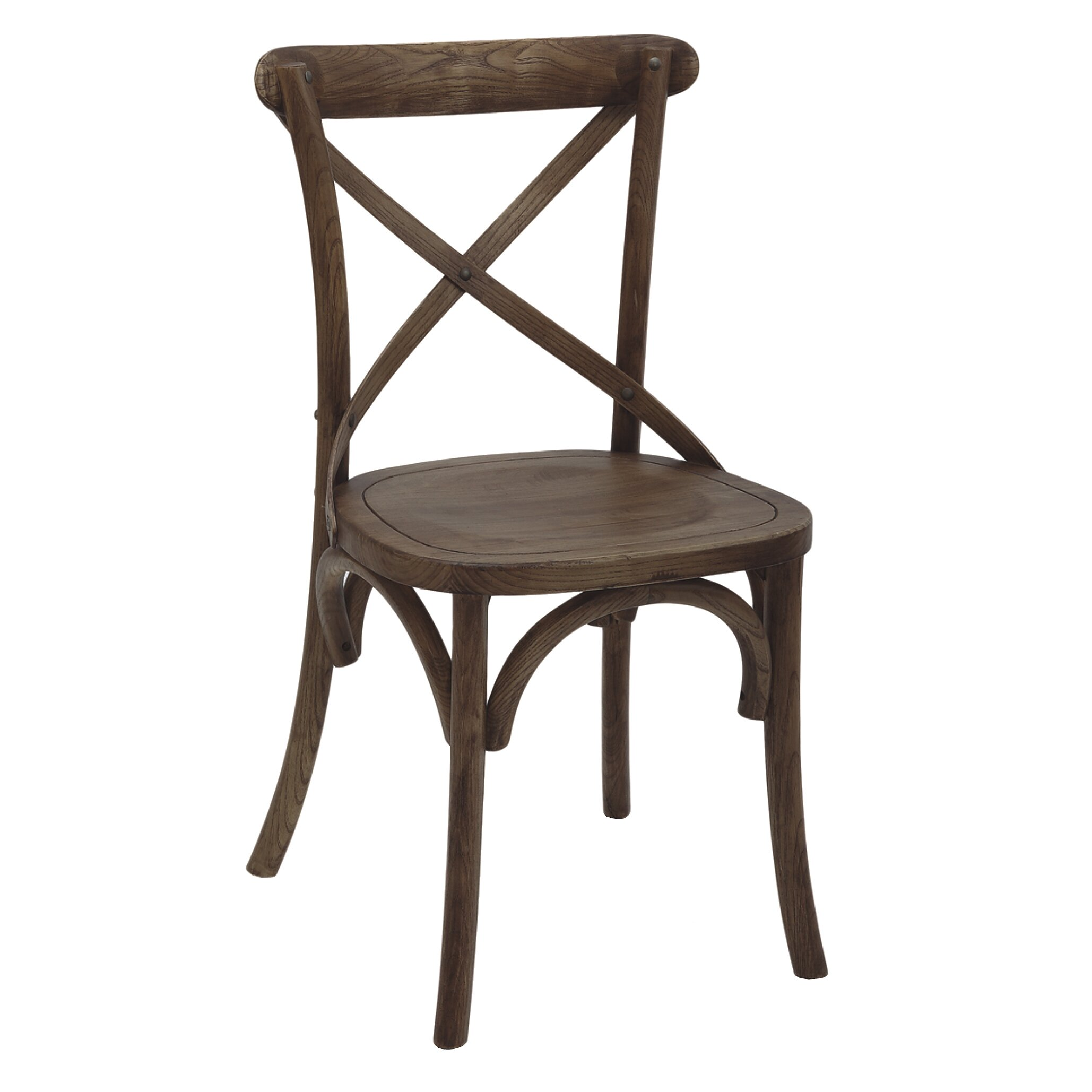 Laurel foundry modern farmhouse alexandre side chair wayfair for Modern farmhouse dining chairs