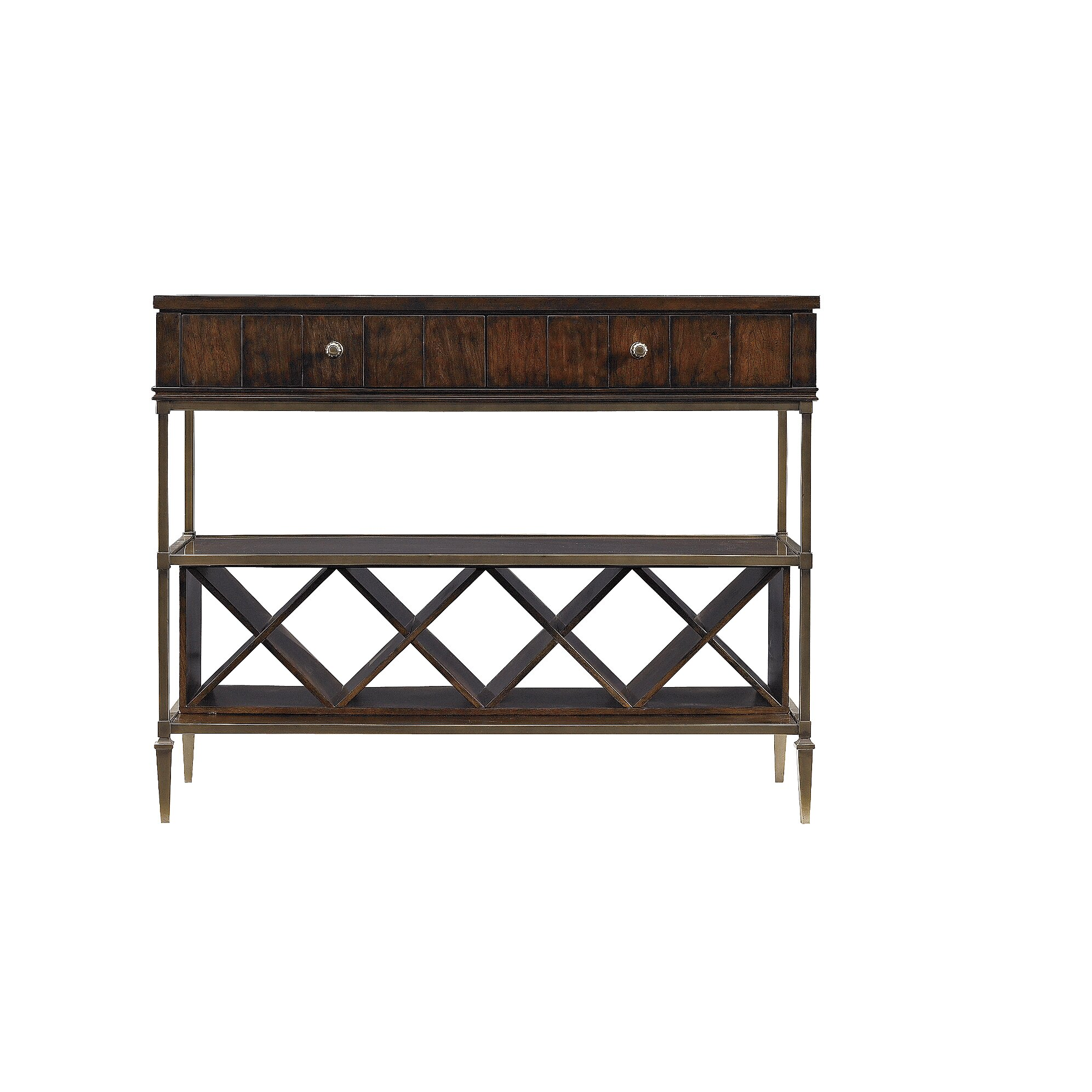 Stanley avalon heights empire serving console table wayfair for Wayfair shop furniture