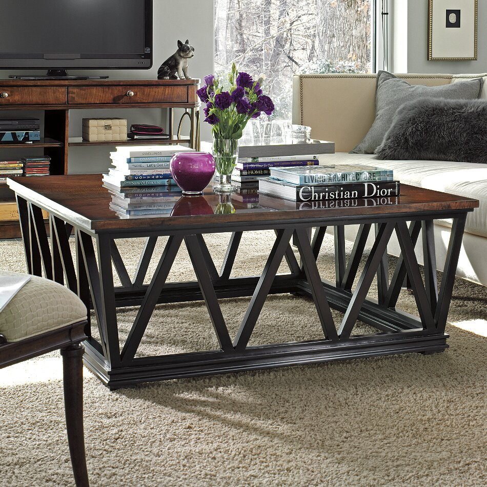 Stanley Avalon Heights Empire Coffee Table Amp Reviews Wayfair