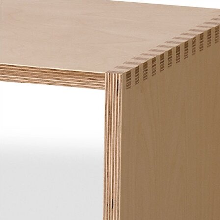Offi birch plywood storage bench reviews wayfair for Furniture grade plywood