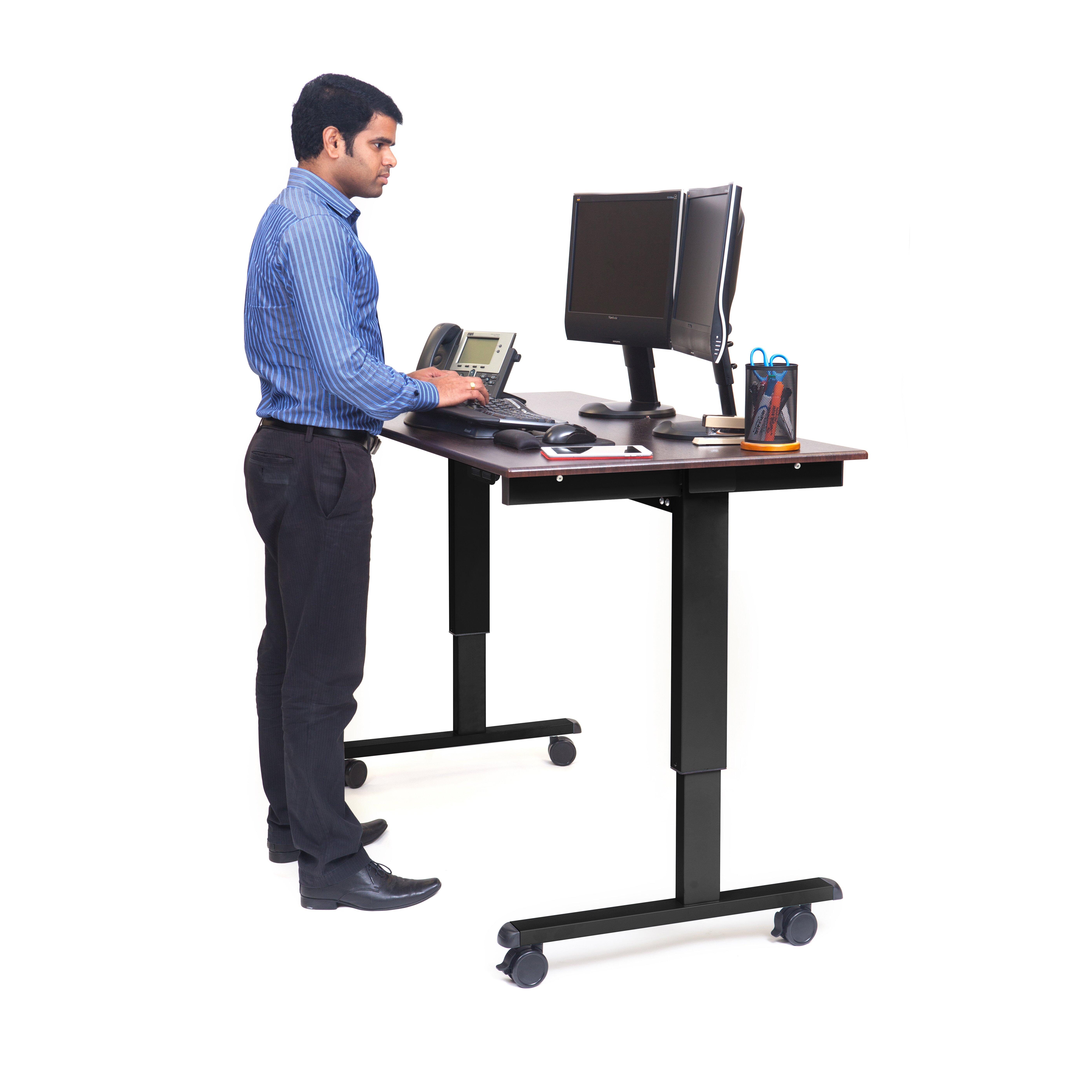 Luxor Height Adjustable Desk Wayfair Supply