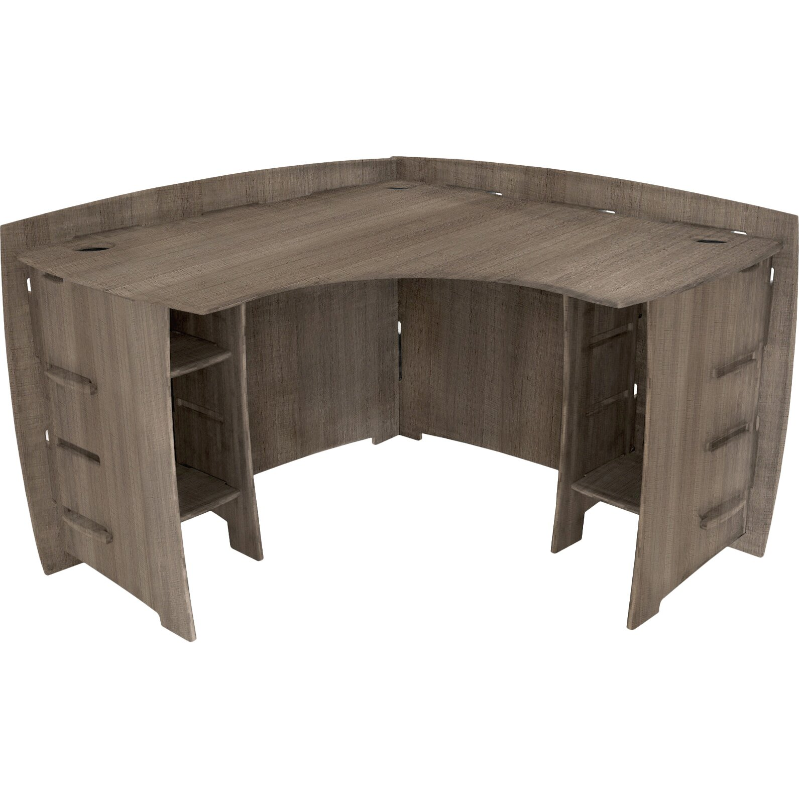 Legare furniture driftwood 47 quot corner executive desk amp reviews