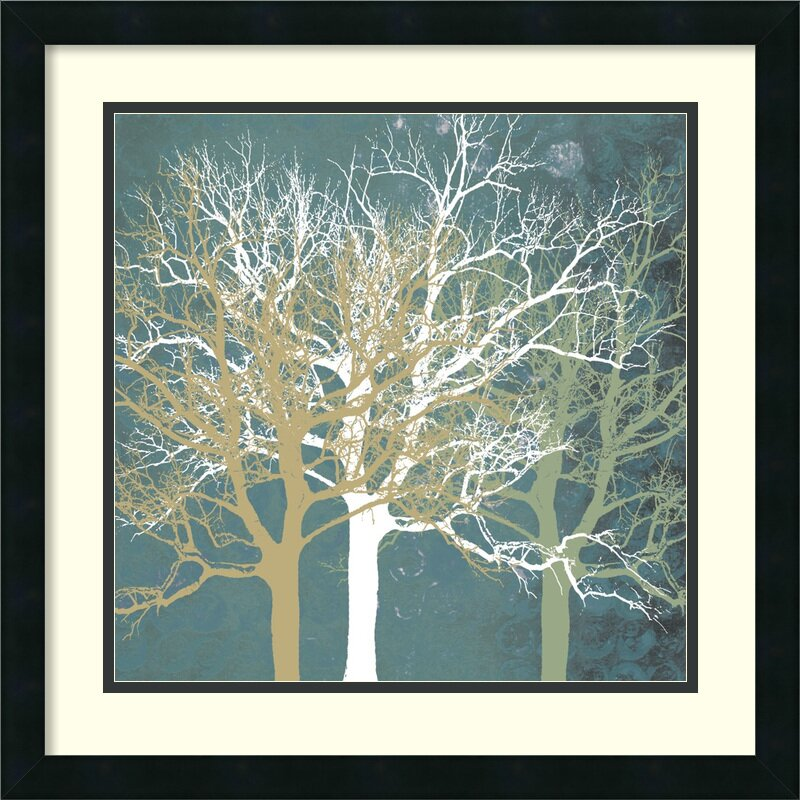 amanti art 39 tranquil trees 39 by erin clark framed painting