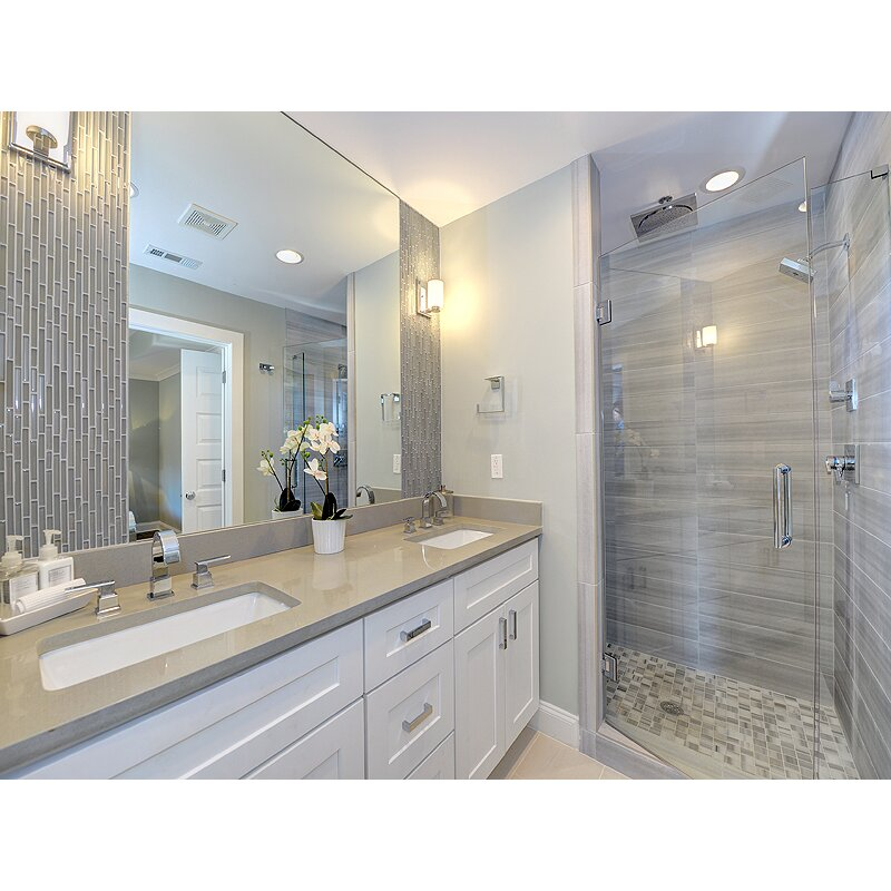 Emser Tile Lucente 3 Quot X 6 Quot Glass Subway Tile In Morning