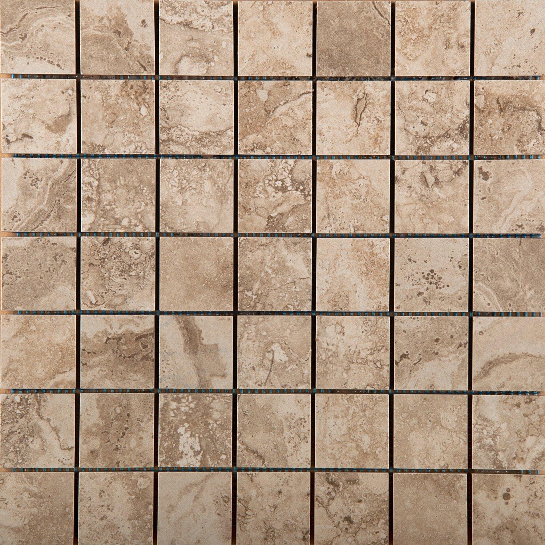 Emser tile homestead 13 x 13 porcelain tile in beige for 13 inch ceramic floor tile