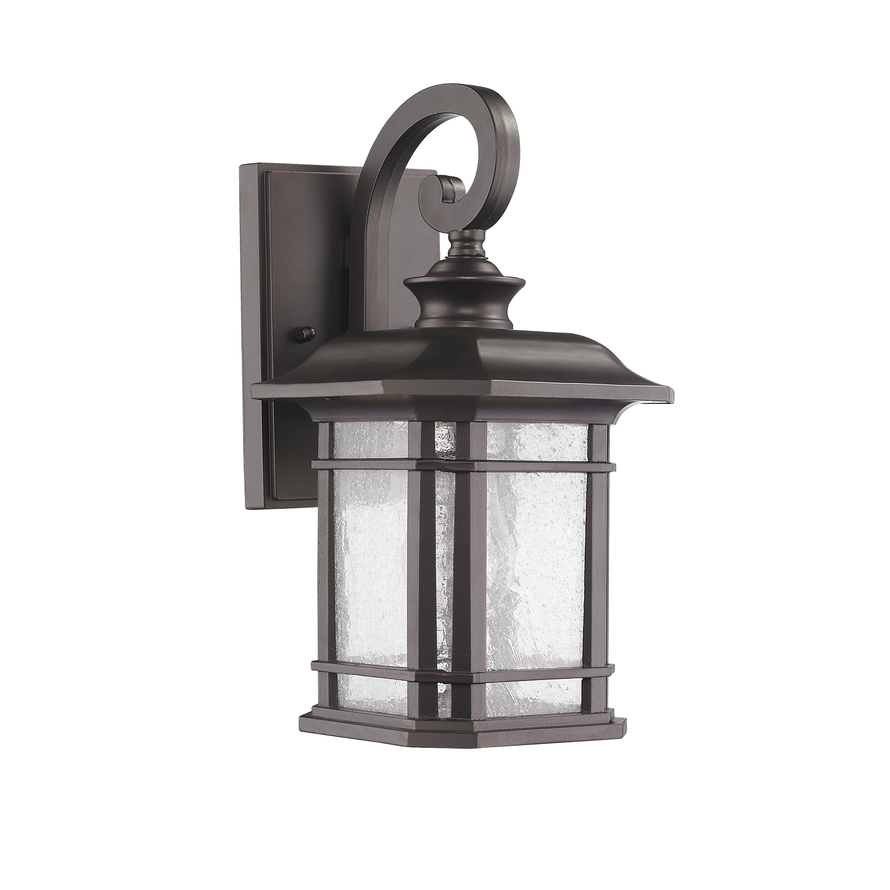 Wayfair Outdoor Wall Lights : Chloe Lighting Transitional 1 Light Outdoor Wall Lantern & Reviews Wayfair