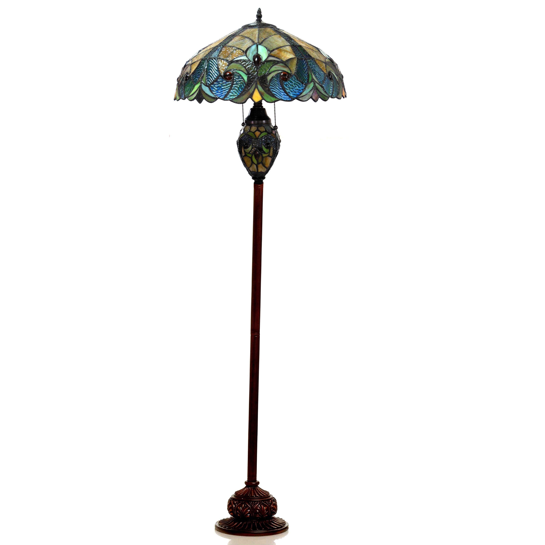 Chloe lighting victorian 65quot tiffany floor lamp reviews for Tiffany floor lamp value