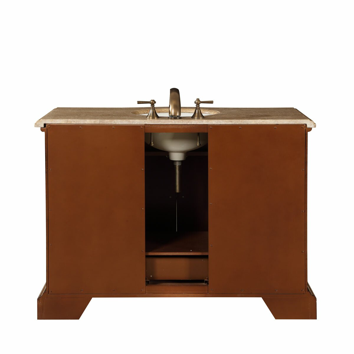 silkroad exclusive 48 single sink bathroom vanity set reviews