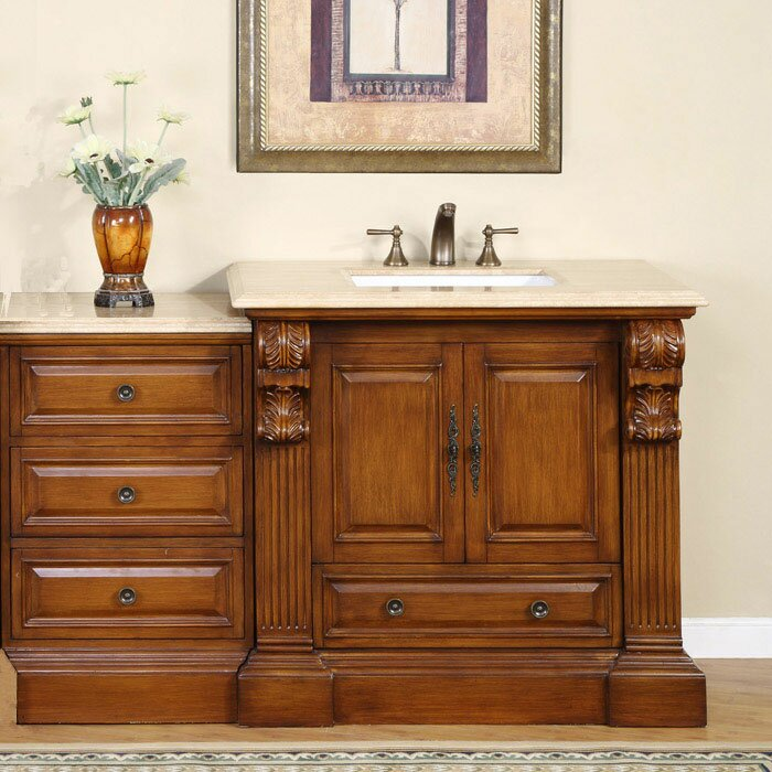 montgomery 58 single bathroom vanity set reviews wayfair