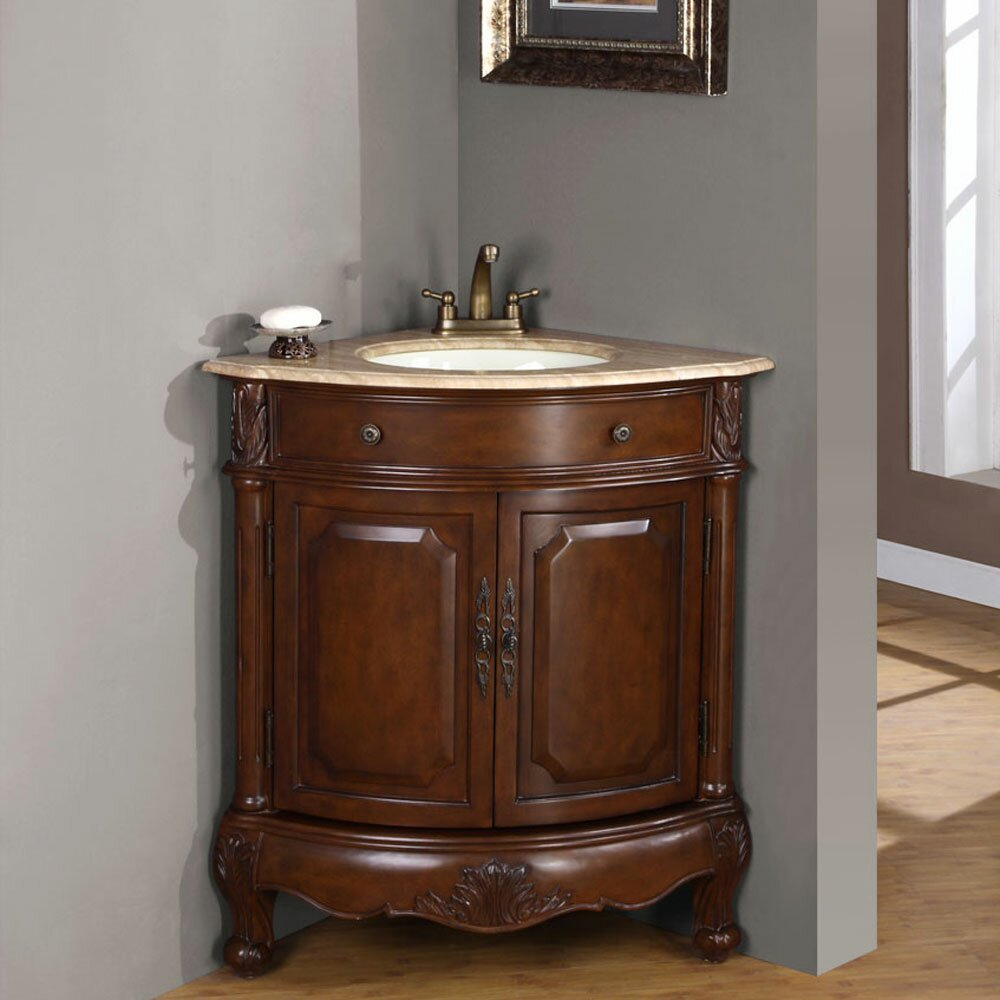 Ensemble Vanite Armoire : Silkroad exclusive hannah single sink cabinet bathroom