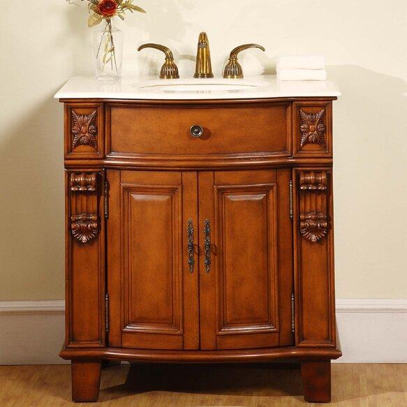 silkroad exclusive savannah 33 single bathroom vanity set reviews wayfair