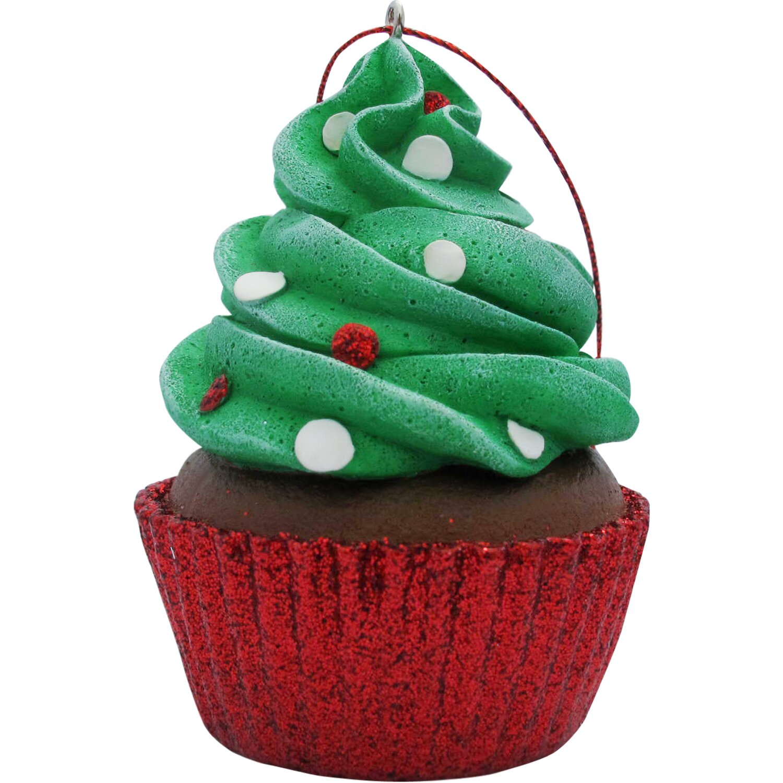 Sandicast Confetti Cupcake Christmas Ornament & Reviews ...
