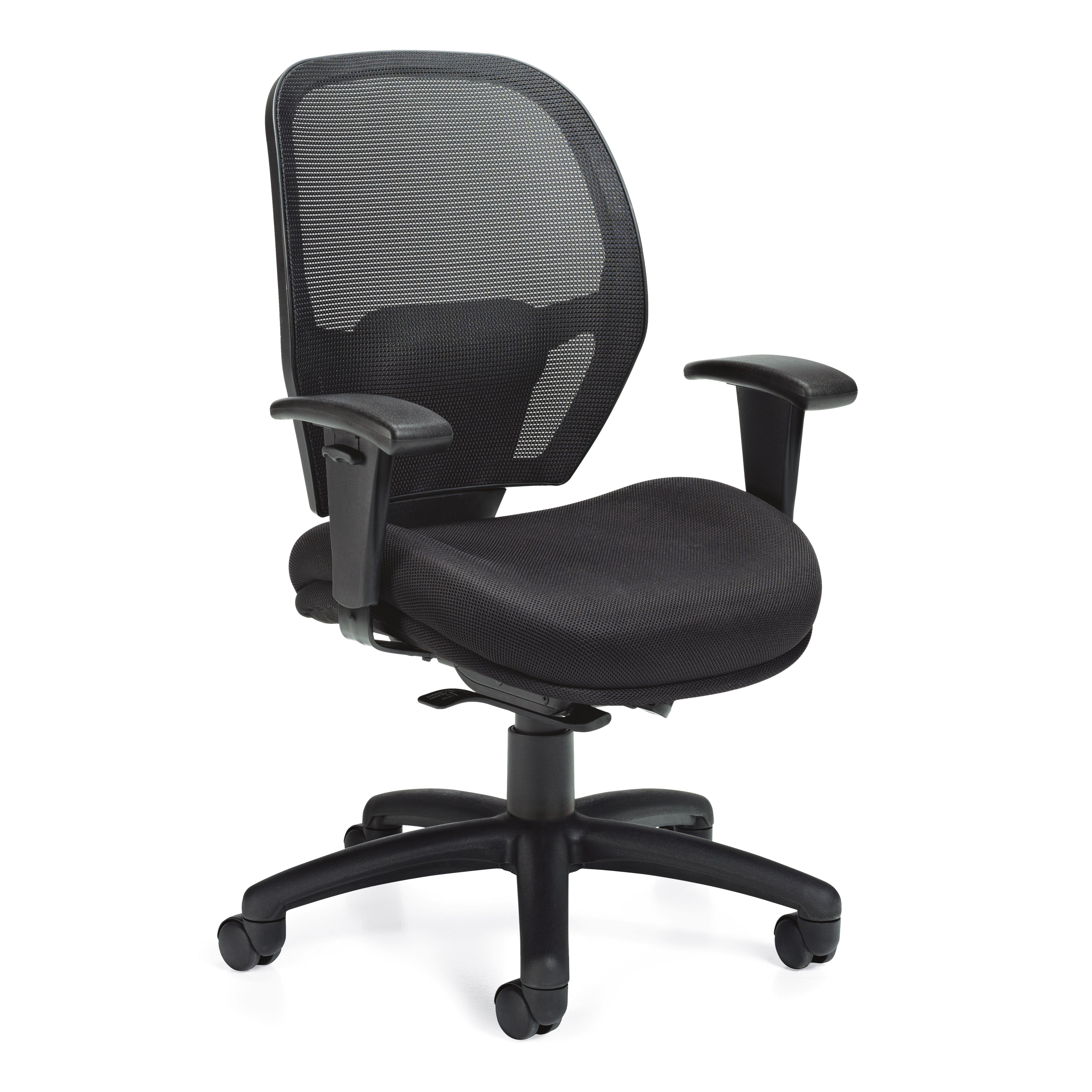 Offices To Go Mid Back Mesh Desk Chair Wayfair Supply