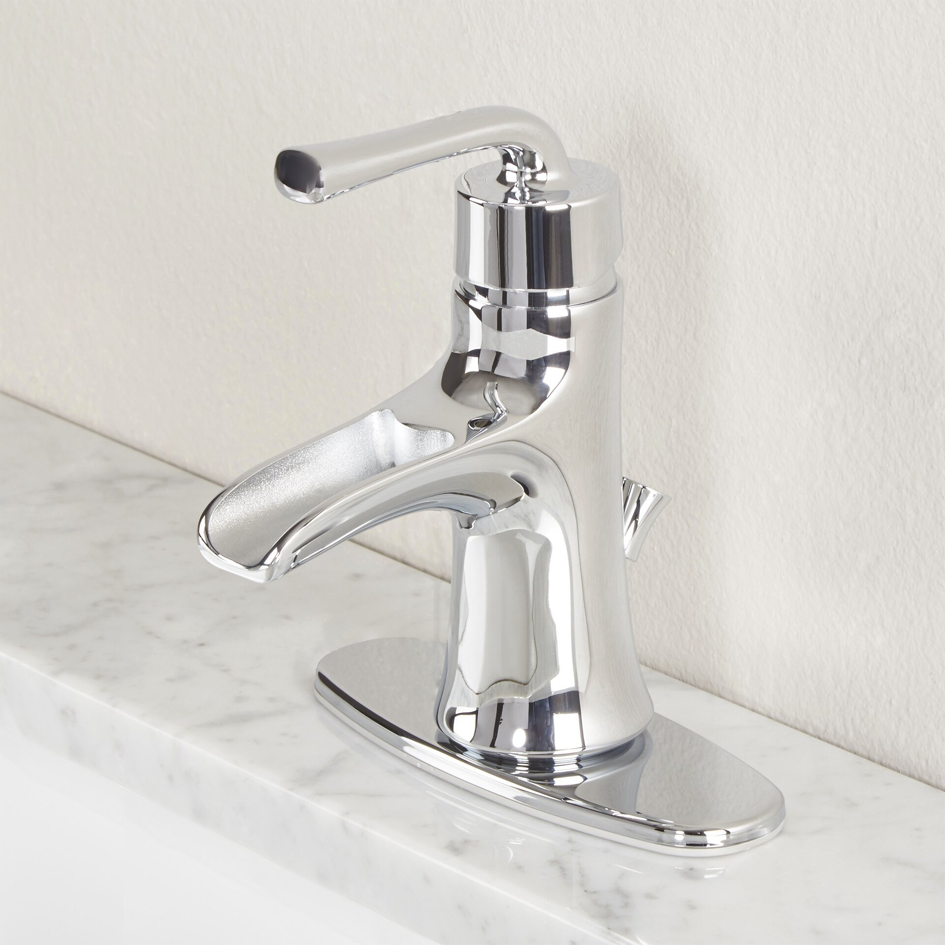 premier faucet sanibel single handle bathroom faucet reviews wayfair. Black Bedroom Furniture Sets. Home Design Ideas