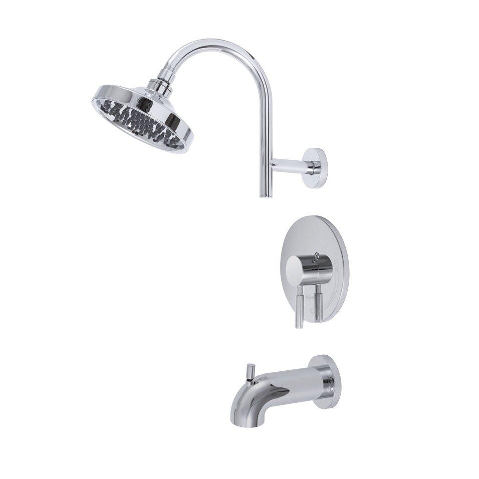 Premier Faucet Essen Single Handle Volume Control Tub And Shower Faucet Reviews Wayfair