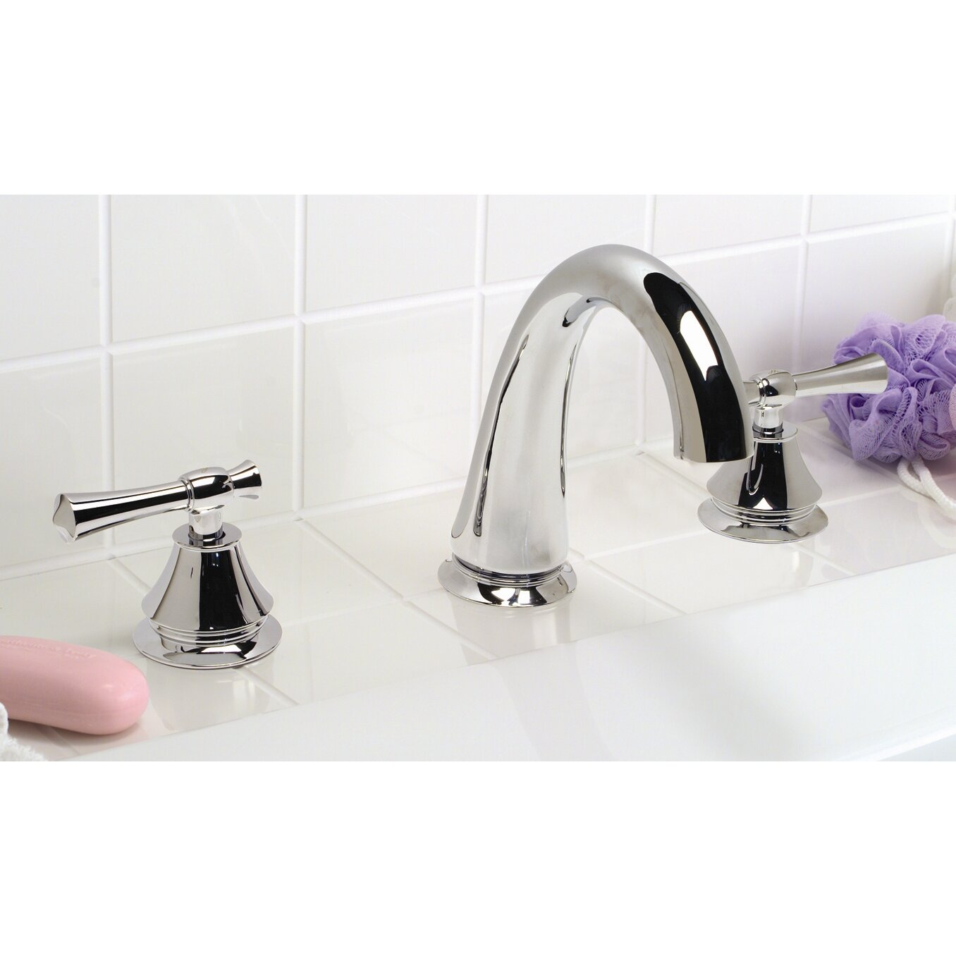premier faucet torino double handle deck mount roman tub