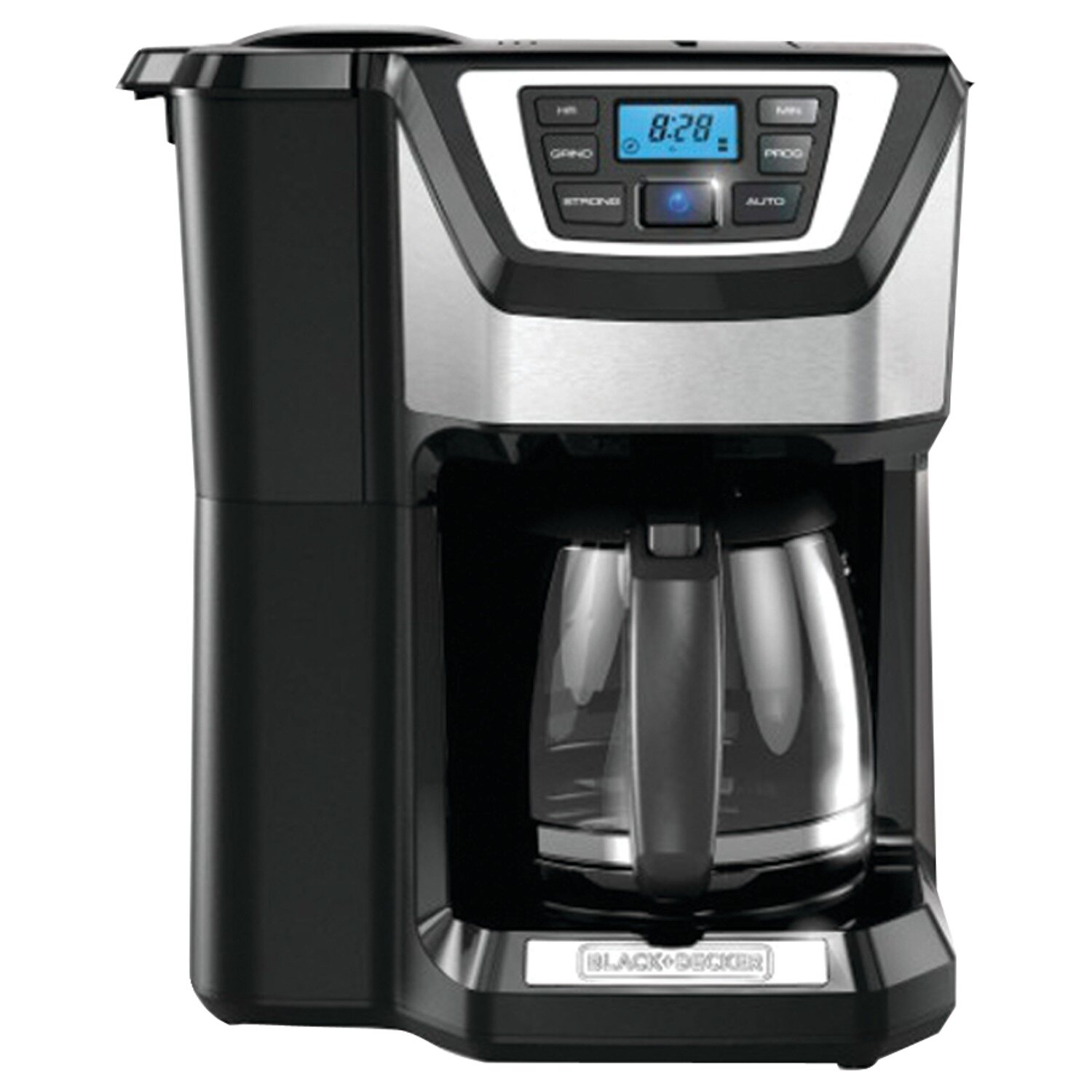 Coffee Maker Black And Decker 12 Cup : Black & Decker 12 Cup Mill and Brew Coffee Maker & Reviews Wayfair