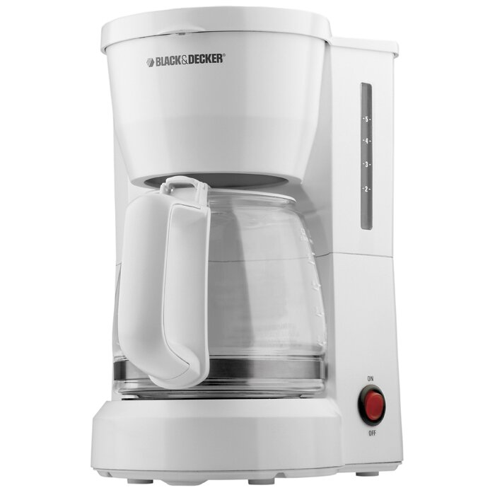 Black & Decker 5 Cup Coffee Maker & Reviews Wayfair