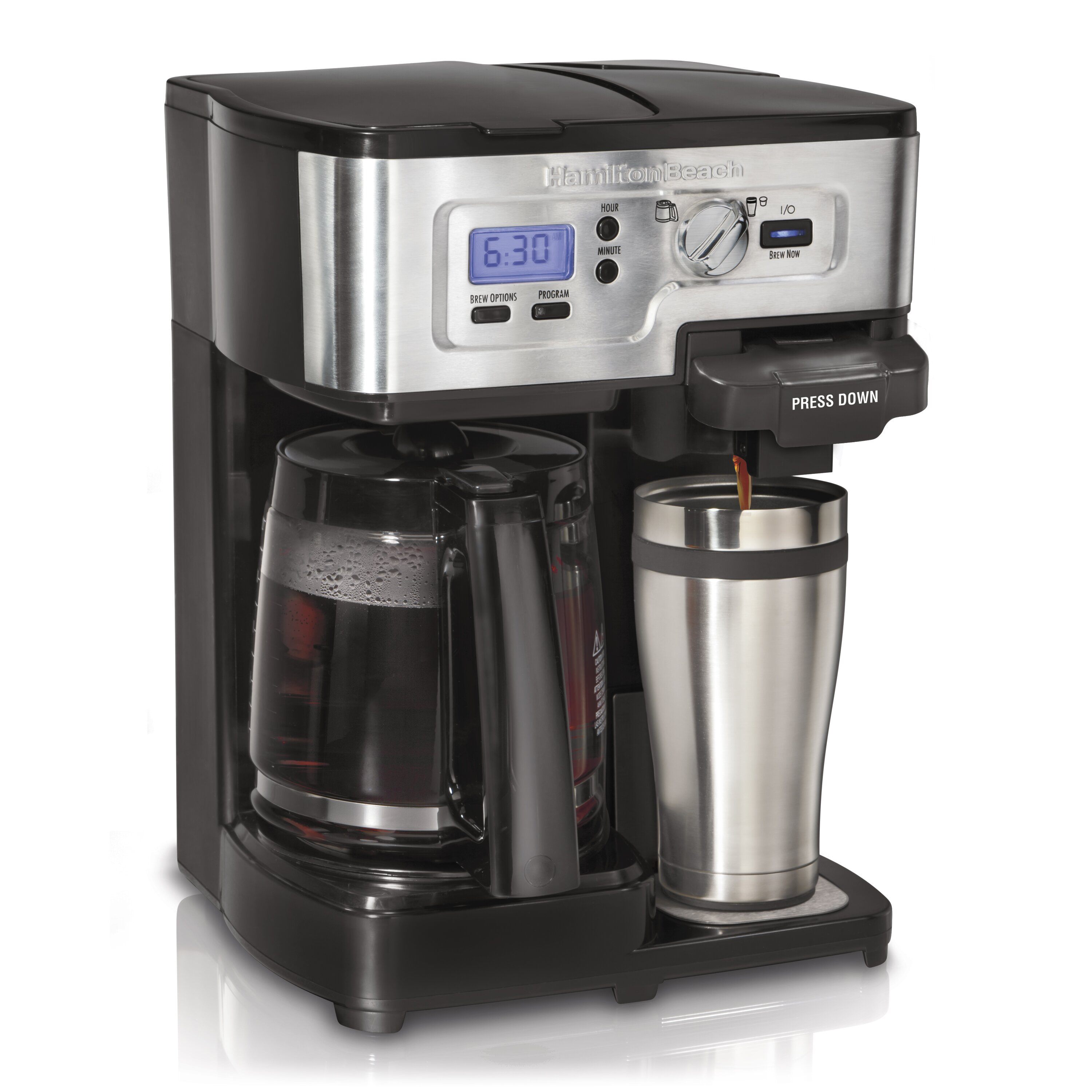 Coffee Maker Quikr : Hamilton Beach FlexBrew 2 Way Coffee Maker & Reviews Wayfair