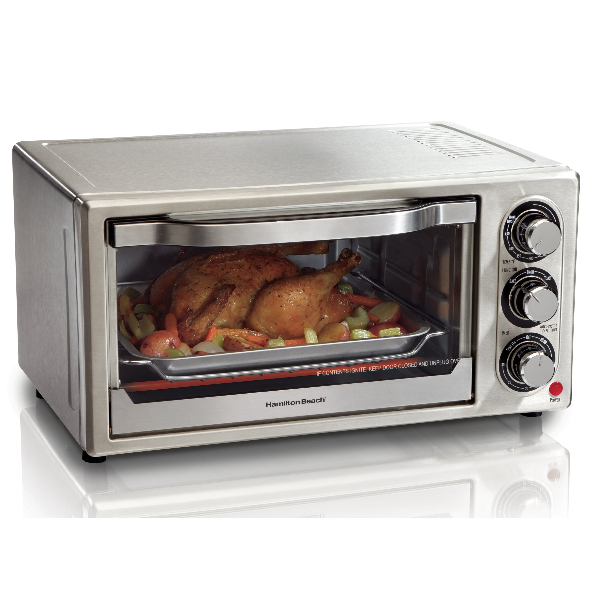 Hamilton Beach Toaster Oven Reviews Wayfair