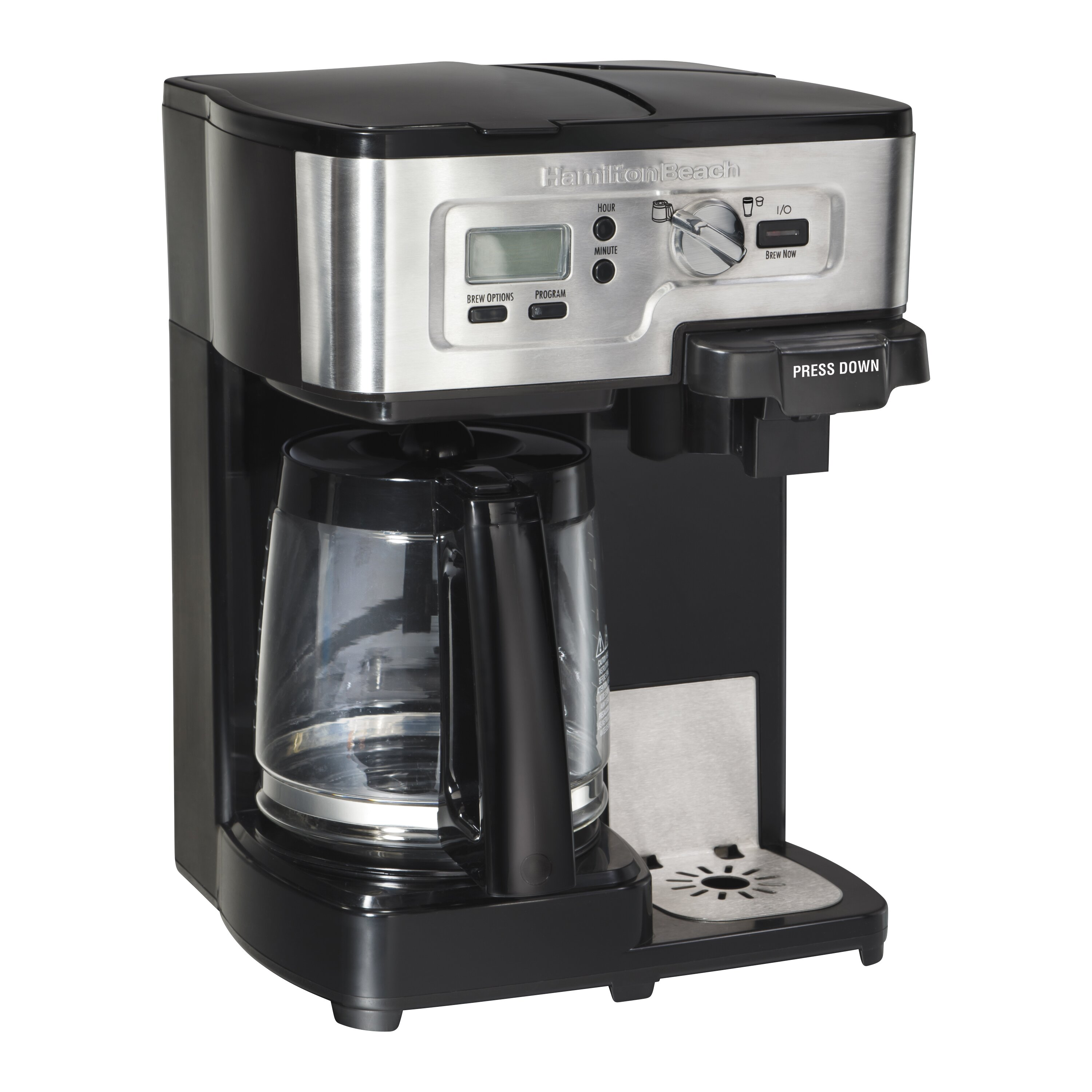 Coffee Maker Reviews And Ratings : Hamilton Beach FlexBrew 2 Way Coffee Maker & Reviews Wayfair