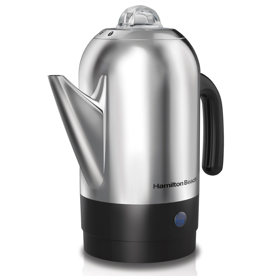 Coffee Maker Percolator Reviews : Hamilton Beach Percolator Coffee Maker & Reviews Wayfair