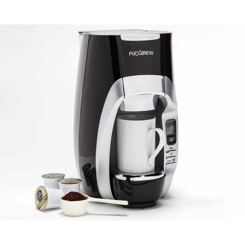 Ezvid Coffee Maker Reviews : Hamilton Beach FlexBrew Programmable Single-Serve Coffee Maker & Reviews Wayfair