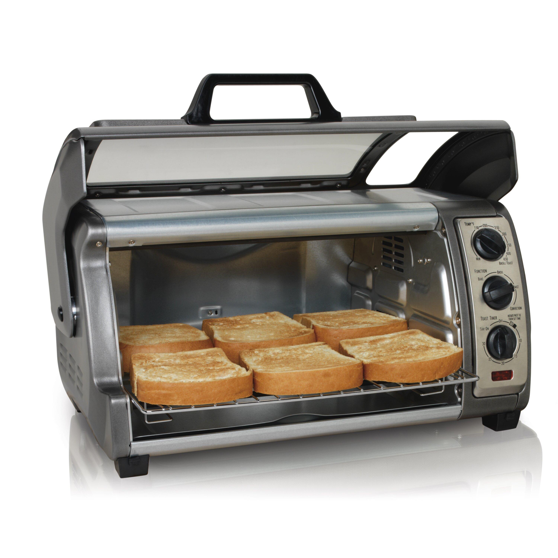 Hamilton Beach Easy Reach Toaster Oven with Convection & Reviews | Wayfair