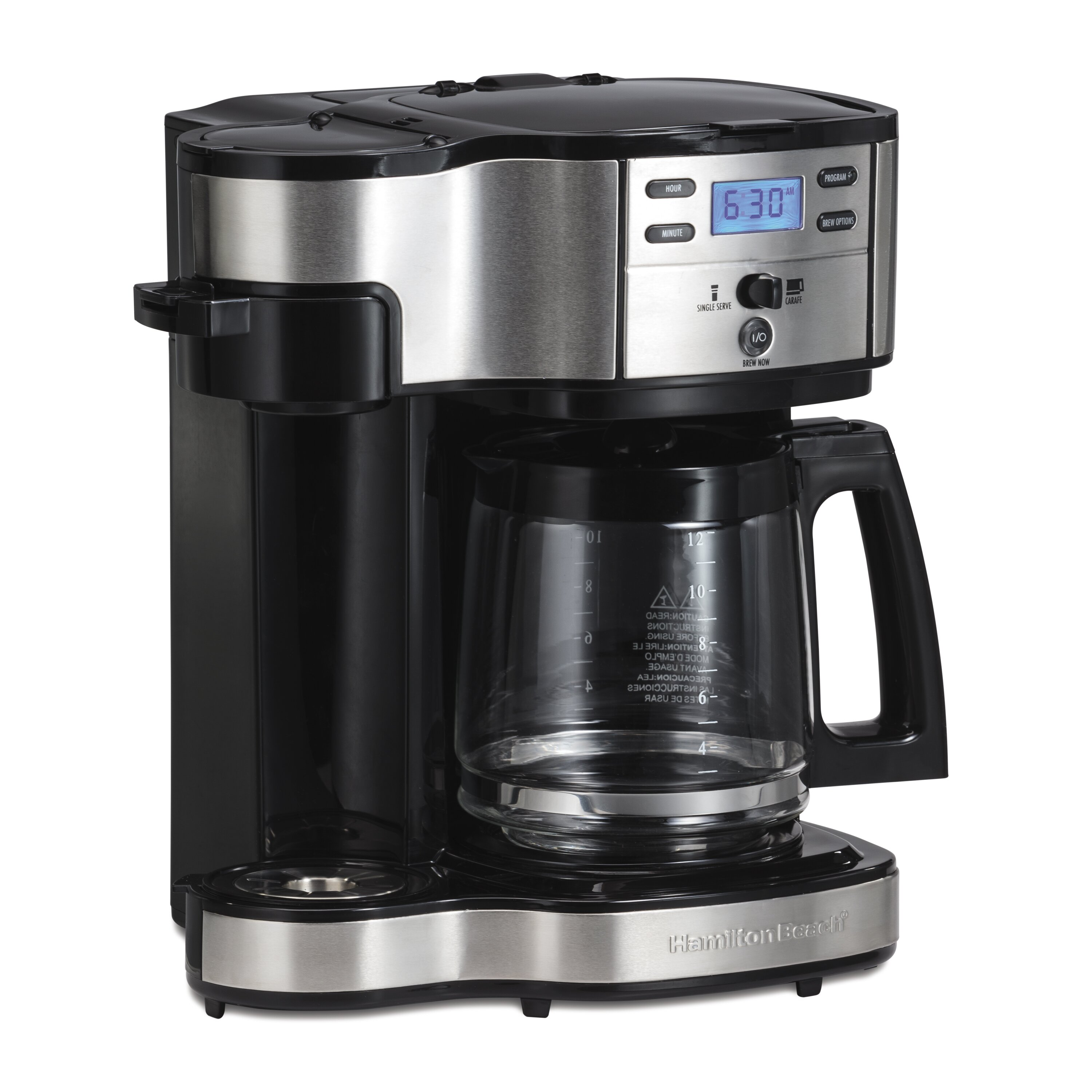 How Many Scoops In Coffee Maker : Hamilton Beach The Scoop Two Way 12 Cup Brewer Coffee Maker & Reviews Wayfair