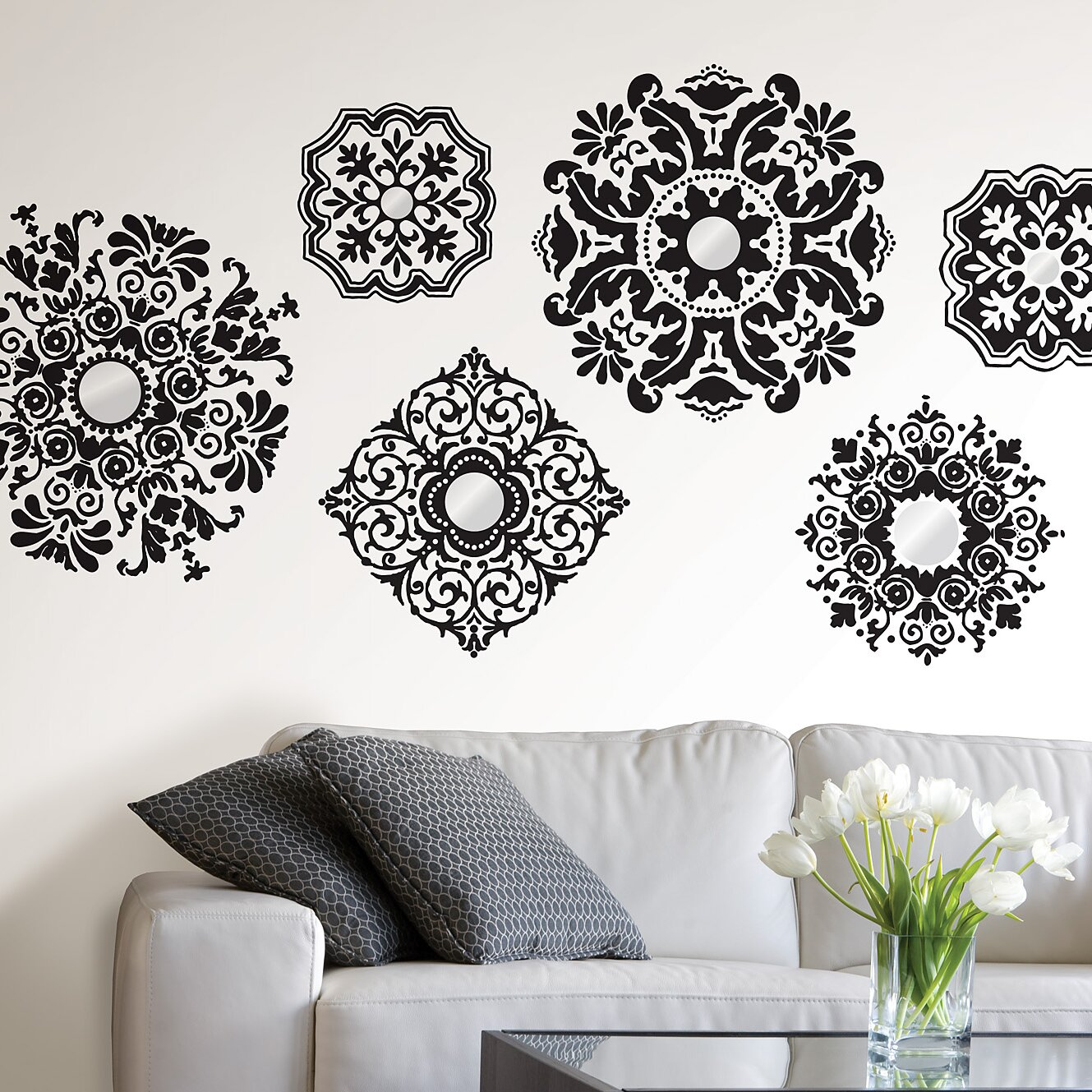 WallPops WallPops Kits 6 Piece Baroque Wall Decal Set