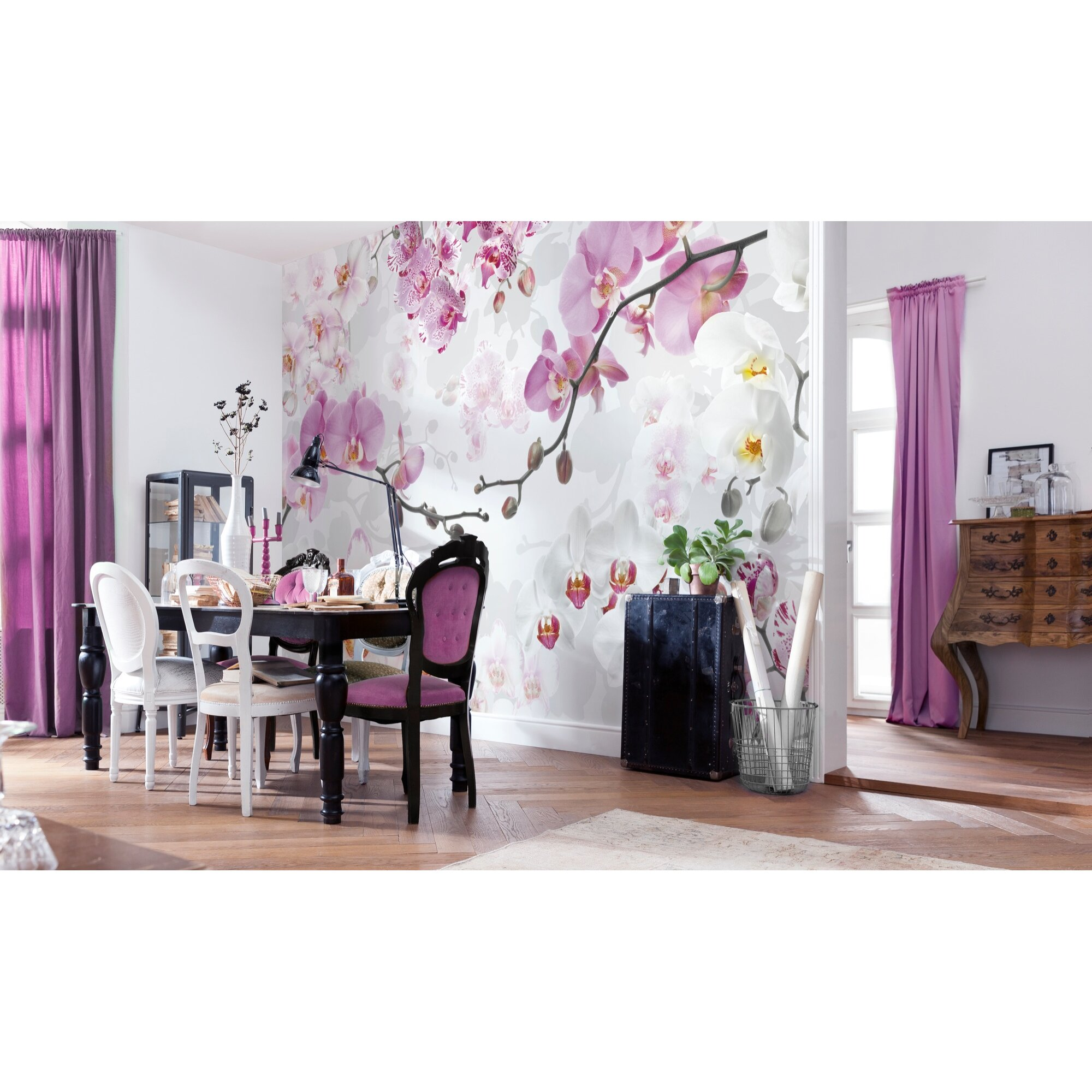 wallpops komar allure wall mural reviews wayfair. Black Bedroom Furniture Sets. Home Design Ideas