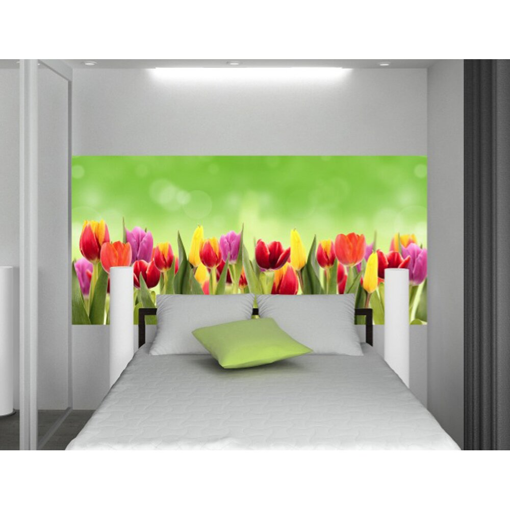 wallpops home decor line flowers wall mural wayfair. Black Bedroom Furniture Sets. Home Design Ideas