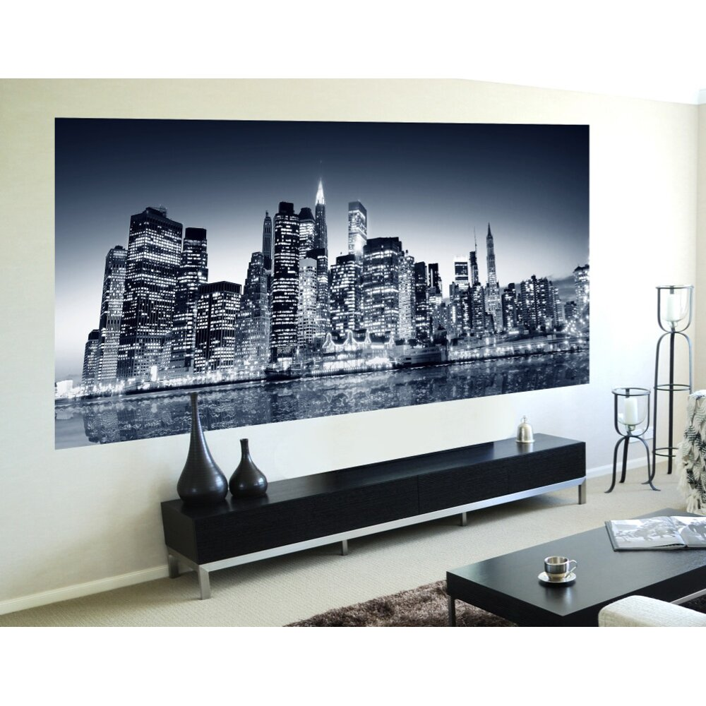 Wallpops Home Decor Line Night View Wall Mural