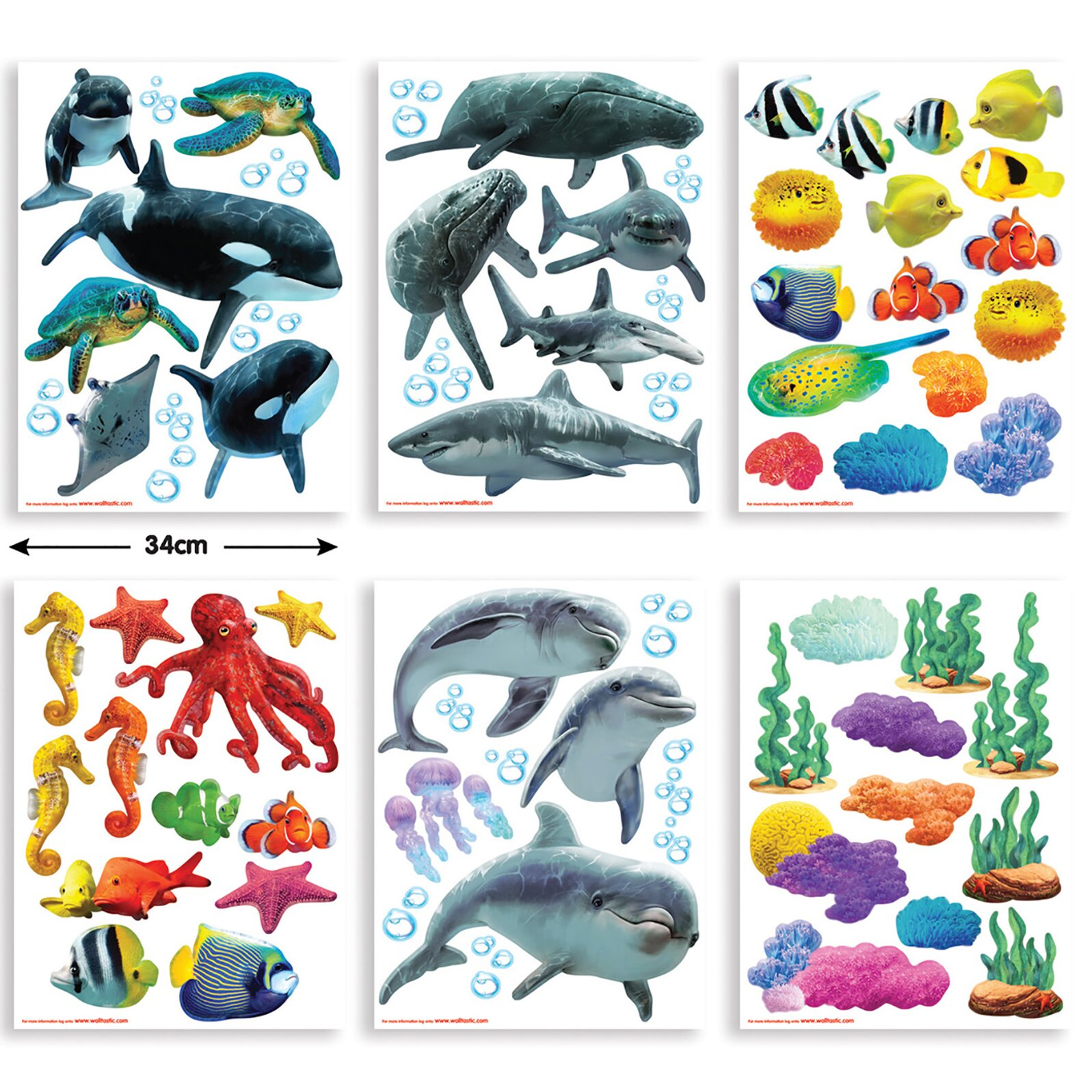 Wall Art Stickers Next Day Delivery : Wallpops walltastic wall art sea adventure decal
